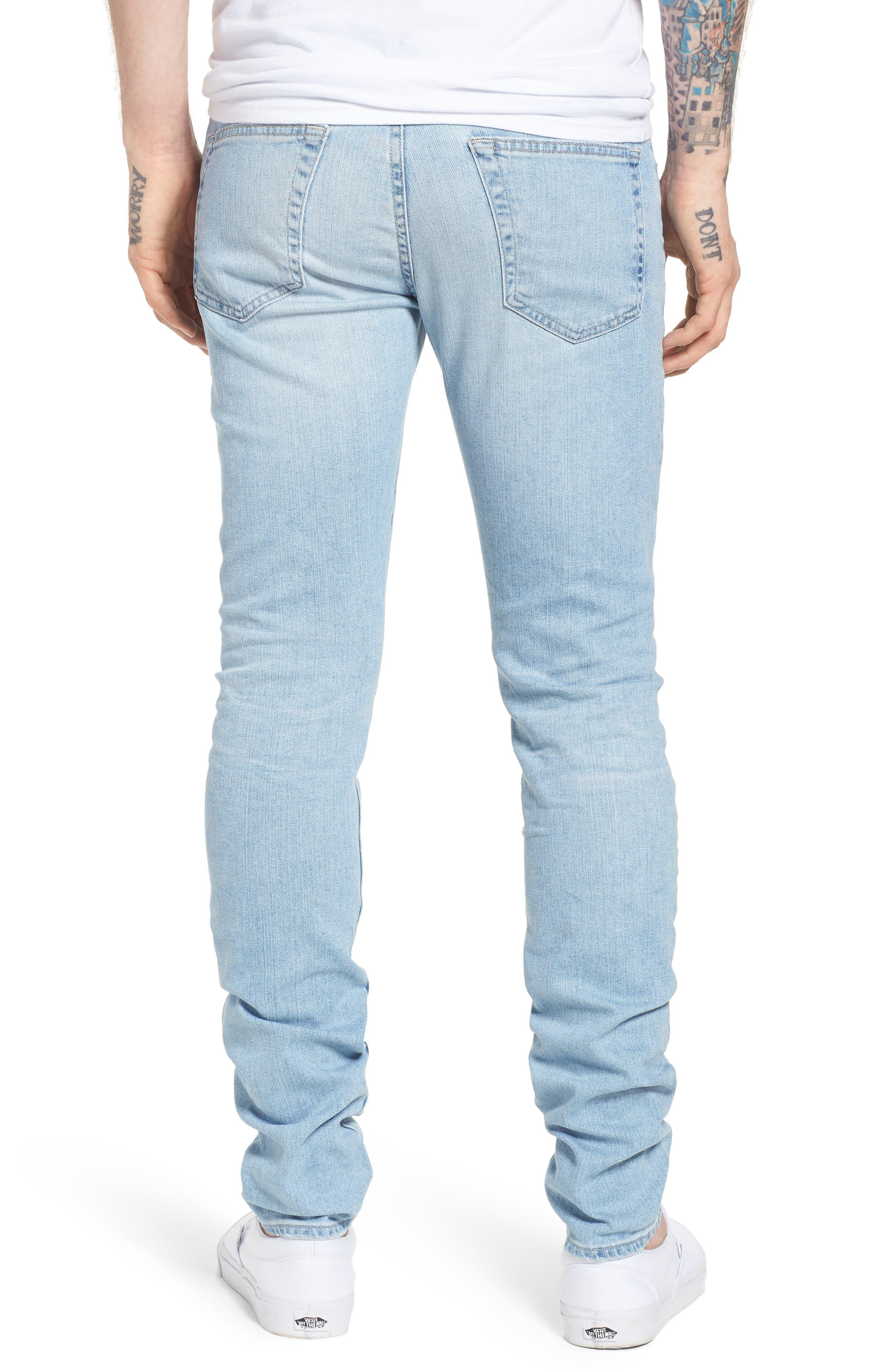 Stockton Skinny Fit Jeans,                             Alternate thumbnail 2, color,                             494