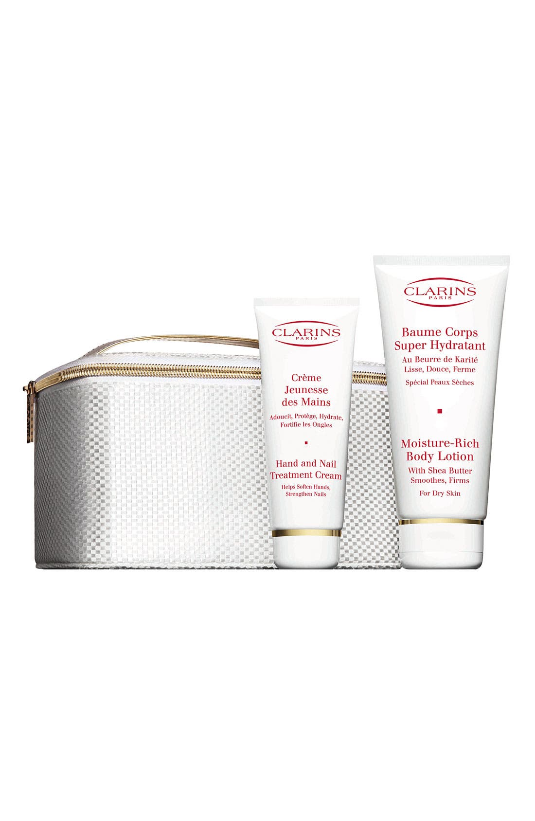 CLARINS,                             'Total Body Moisture' Set,                             Main thumbnail 1, color,                             000