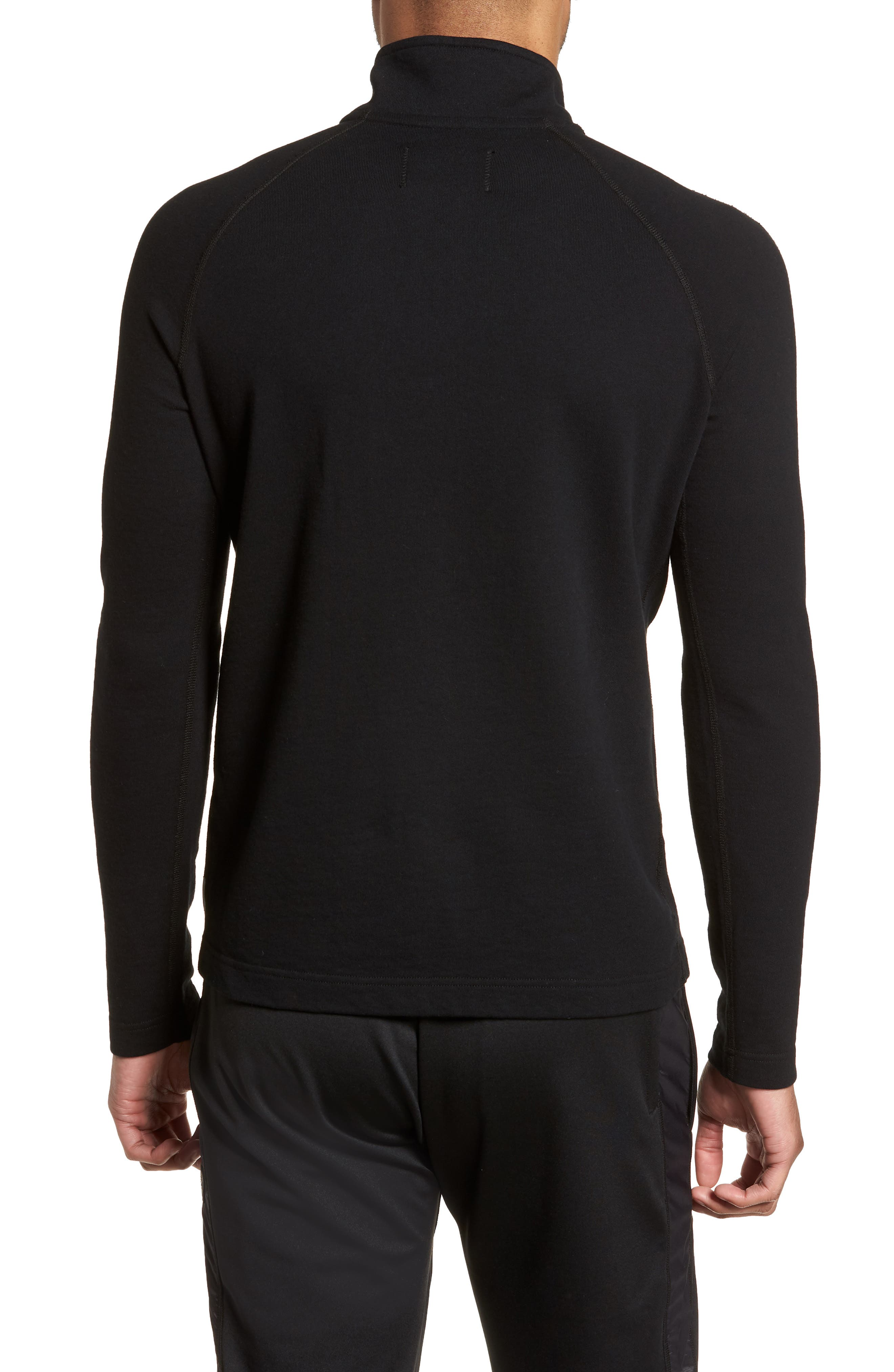 REIGNING CHAMP,                             Half Zip Pullover,                             Alternate thumbnail 2, color,                             001