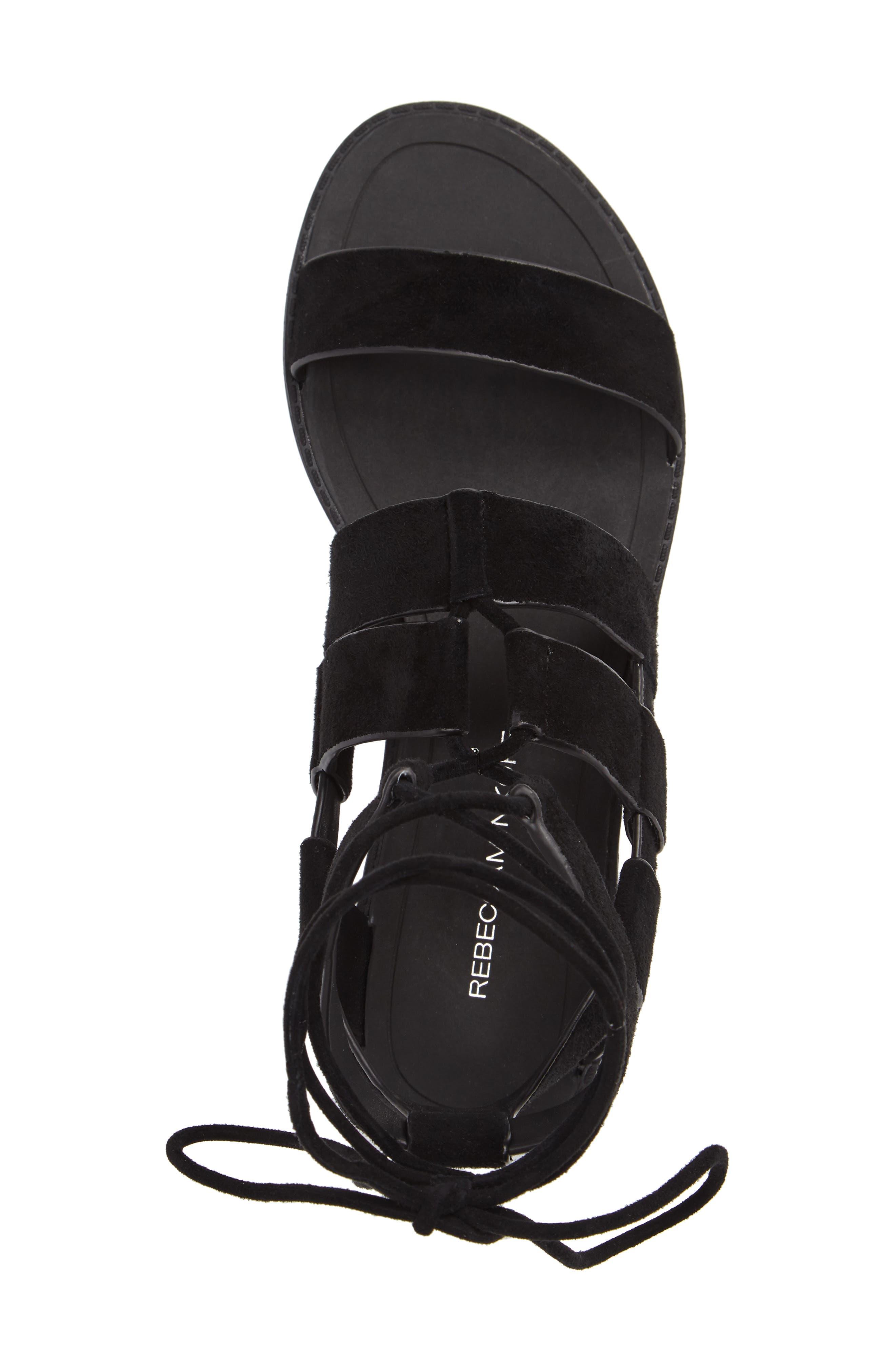 Giada Strappy Sandal,                             Alternate thumbnail 3, color,                             001