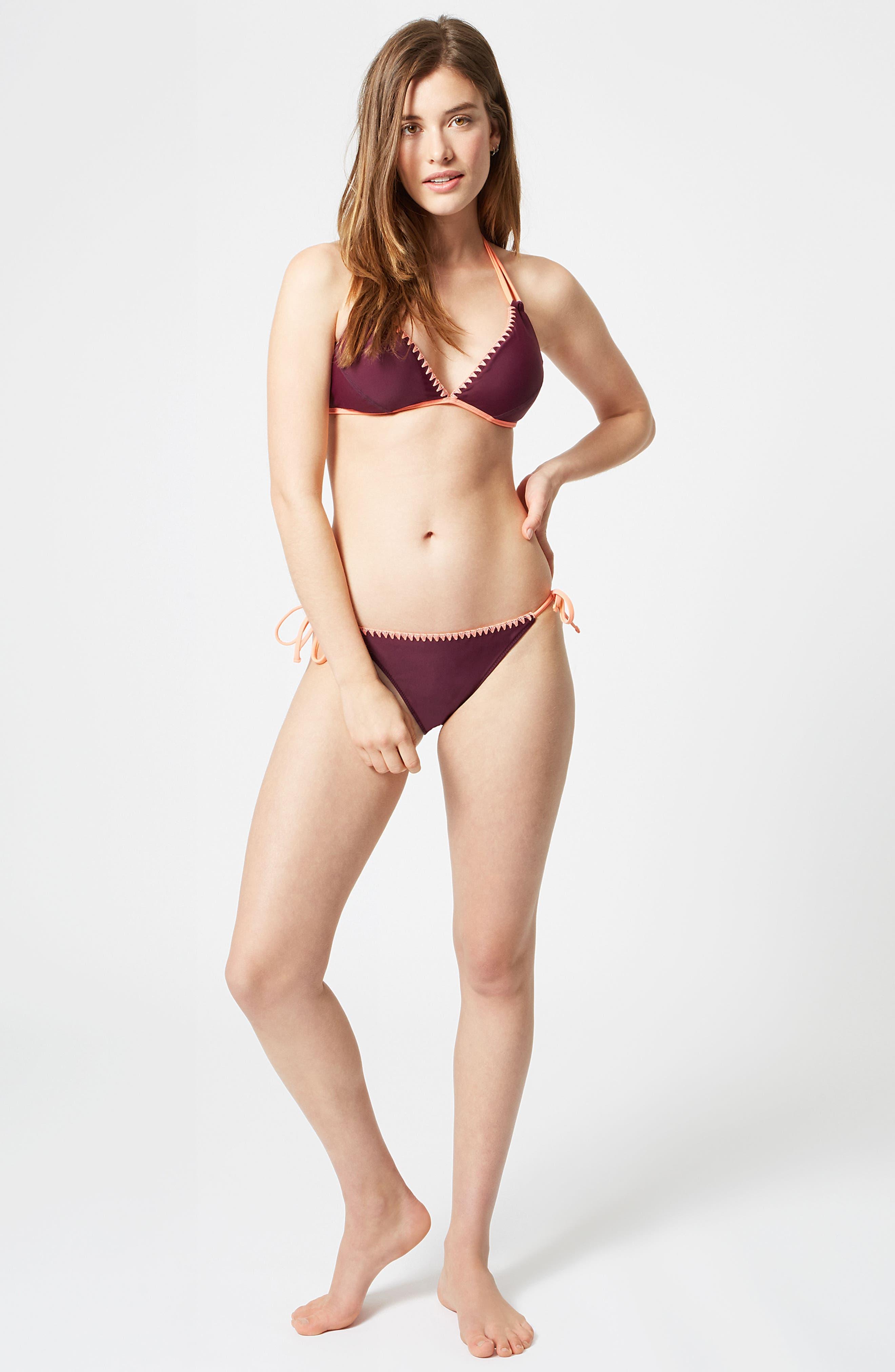 Purity Reversible Bikini Top,                             Alternate thumbnail 8, color,