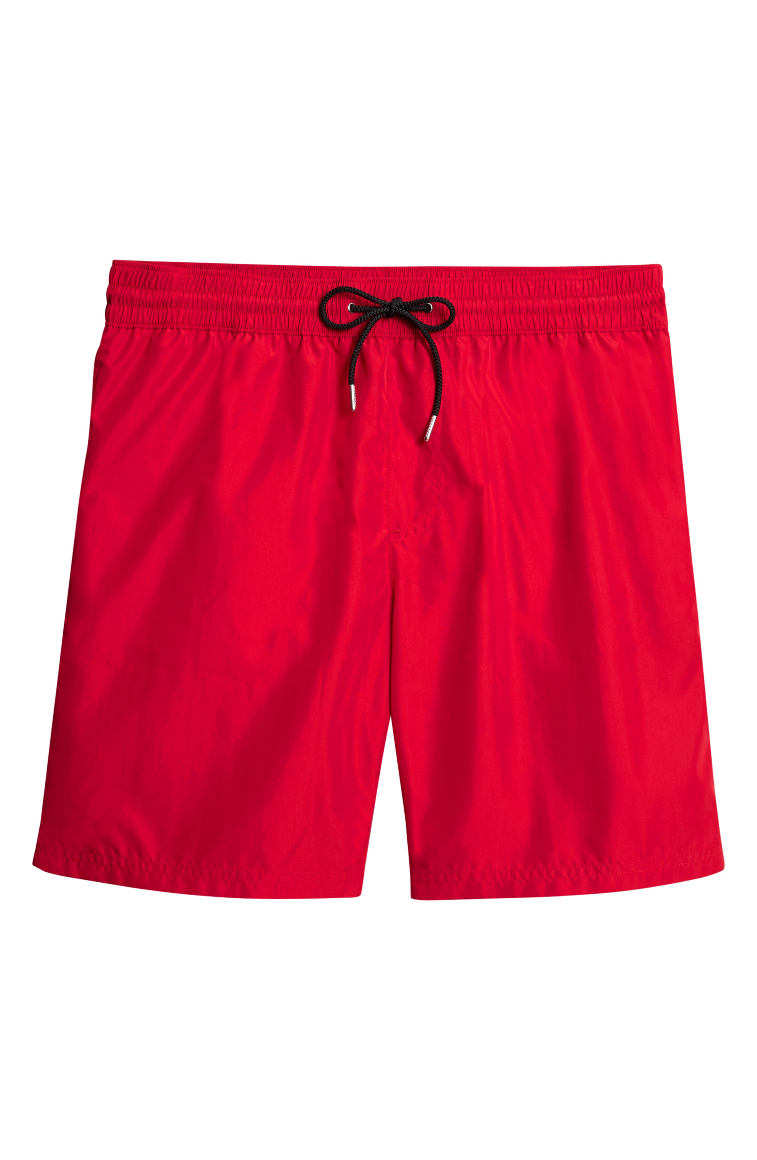 Guildes Swim Trunks,                             Alternate thumbnail 6, color,                             PARADE RED