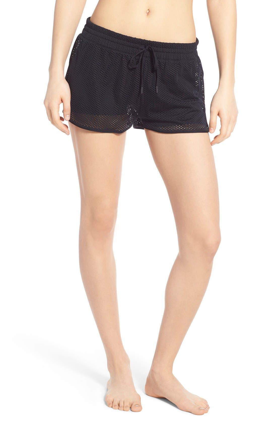Mesh Running Shorts,                         Main,                         color, 001