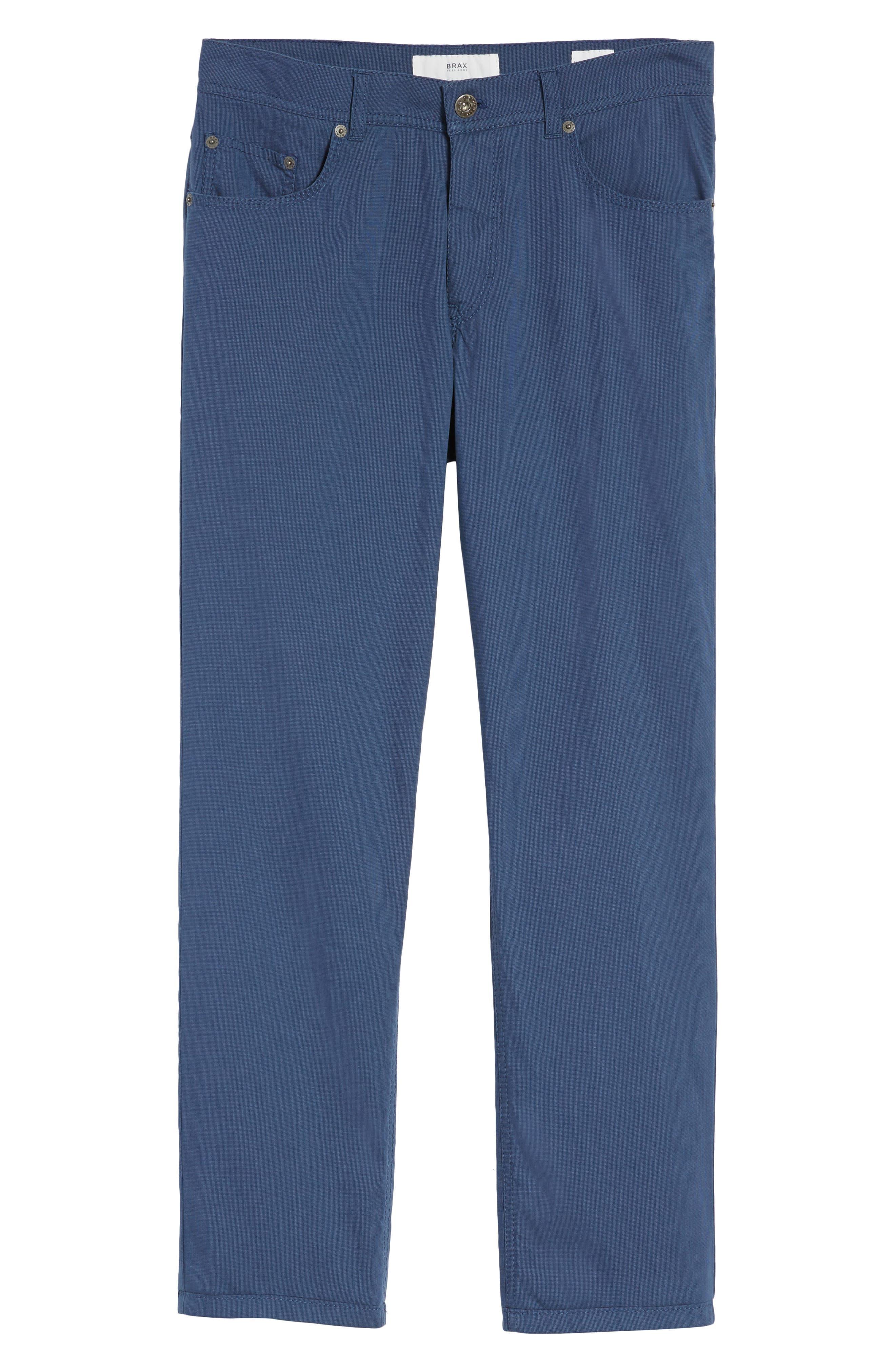 Sensation Stretch Trousers,                             Alternate thumbnail 6, color,                             BLUE
