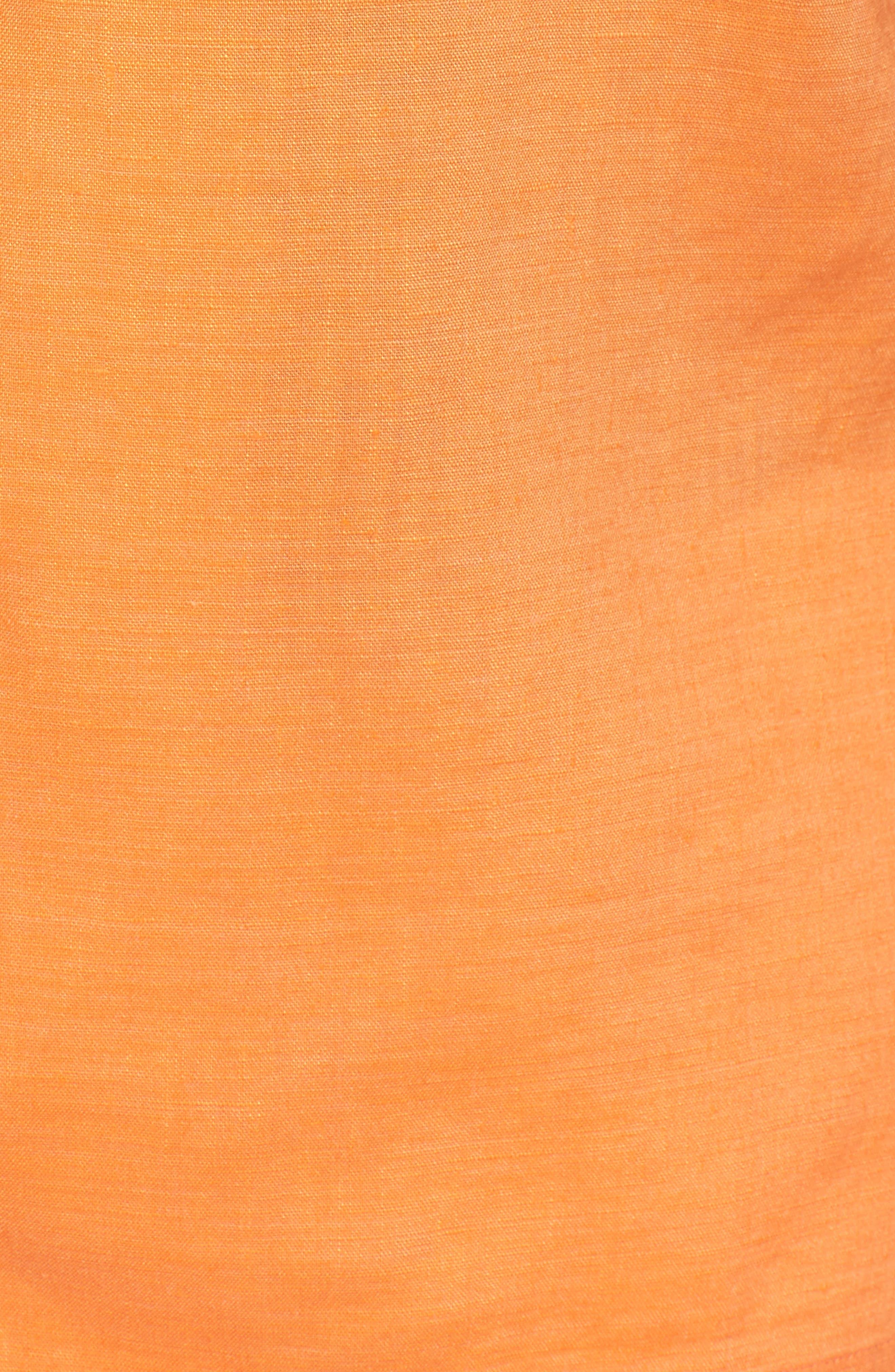 Monaco Tides Standard Fit Linen Blend Camp Shirt,                             Alternate thumbnail 30, color,
