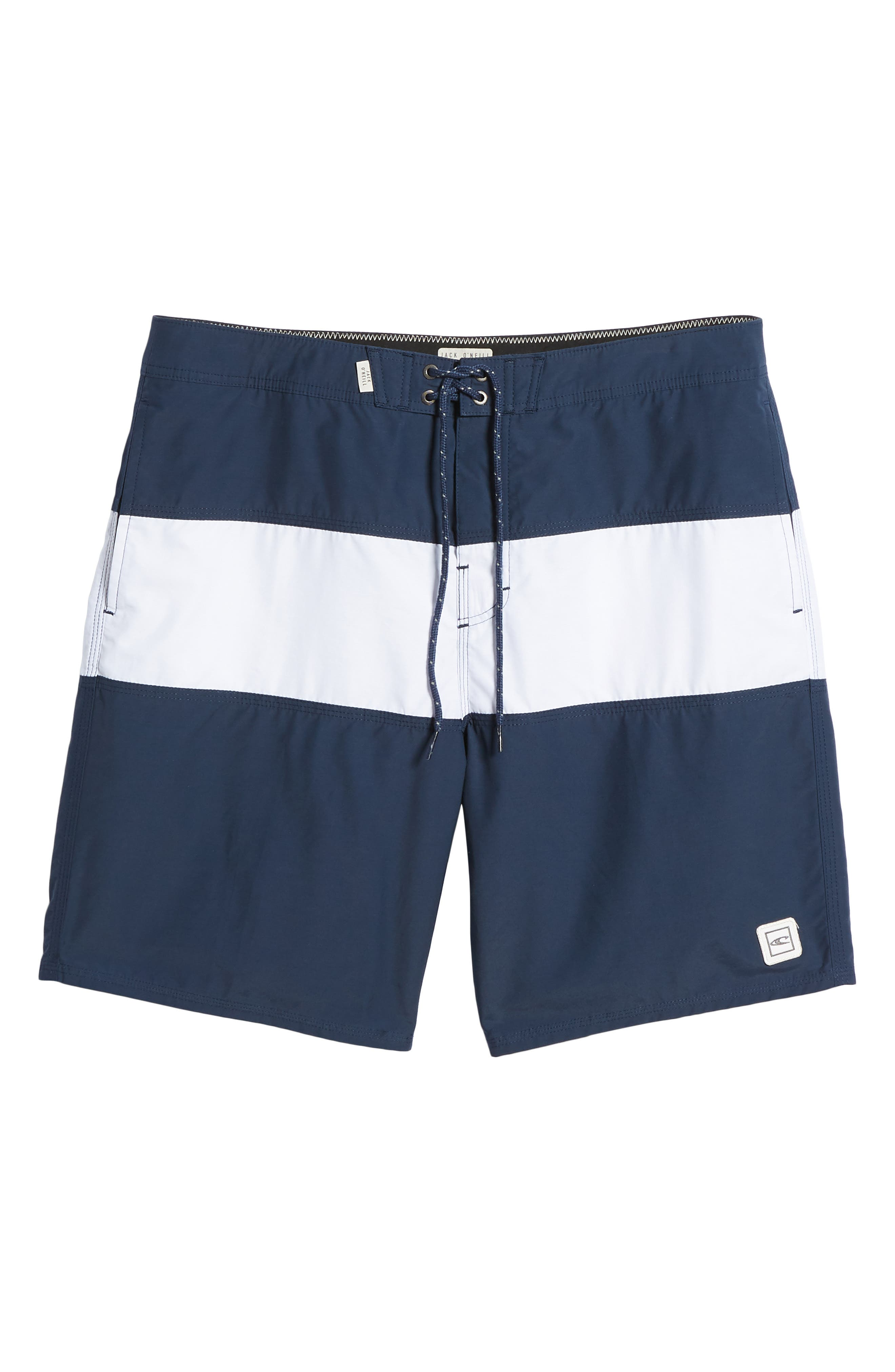 Heritage Board Shorts,                             Alternate thumbnail 6, color,                             NAVY