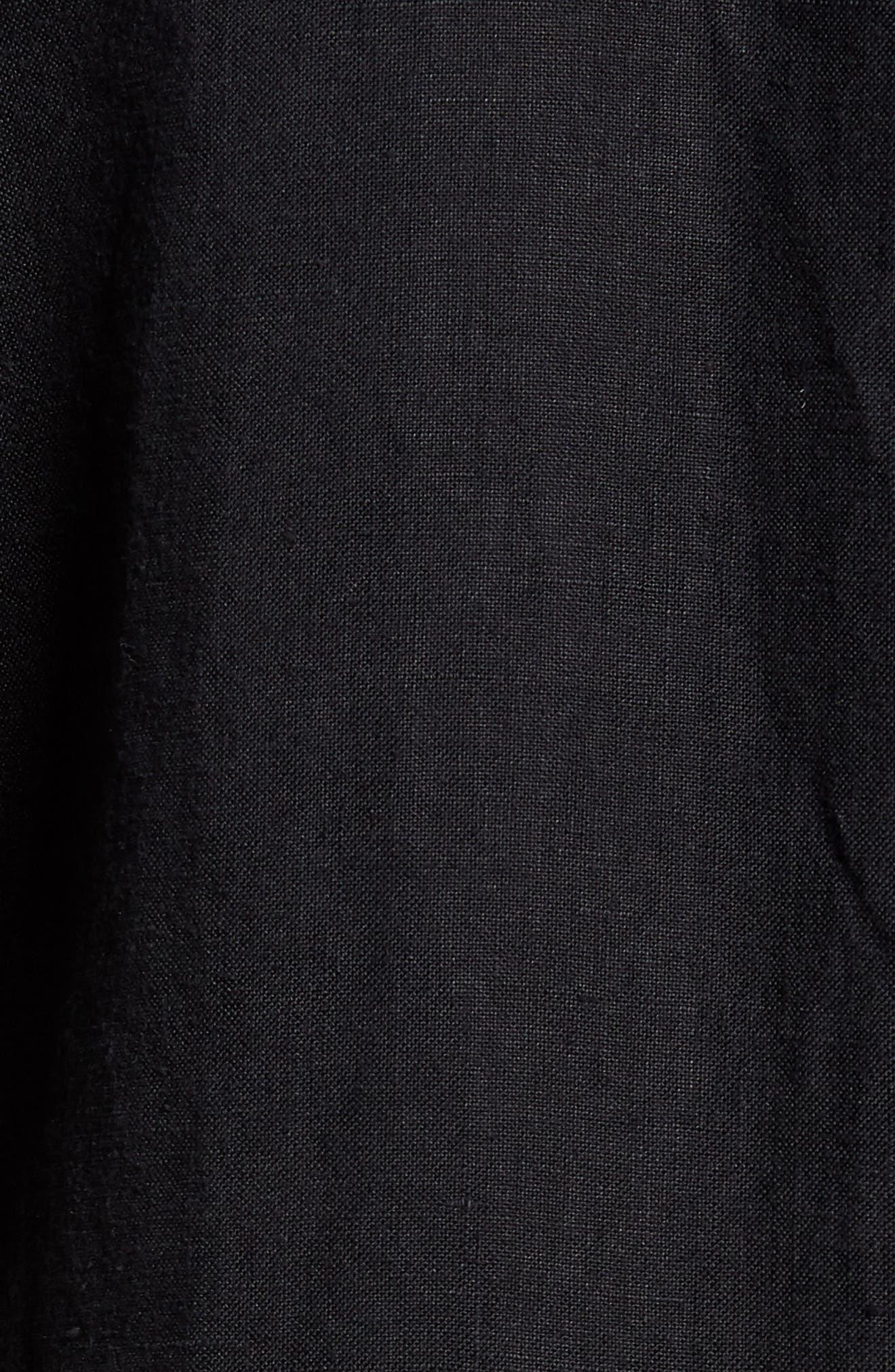 Slim Fit Hemp Blazer,                             Alternate thumbnail 6, color,                             400