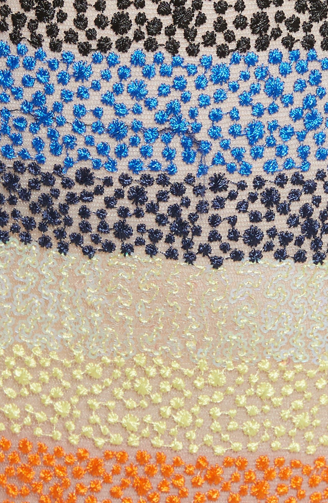 Annabeth Off the Shoulder Midi Dress,                             Alternate thumbnail 5, color,                             006