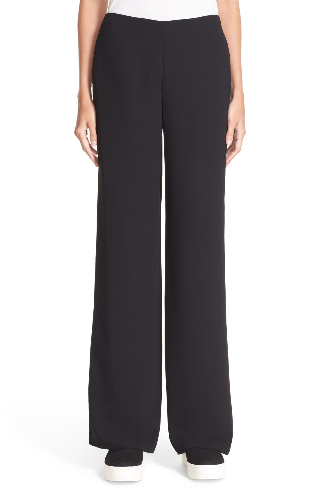 Side Zip Trousers, Main, color, 001