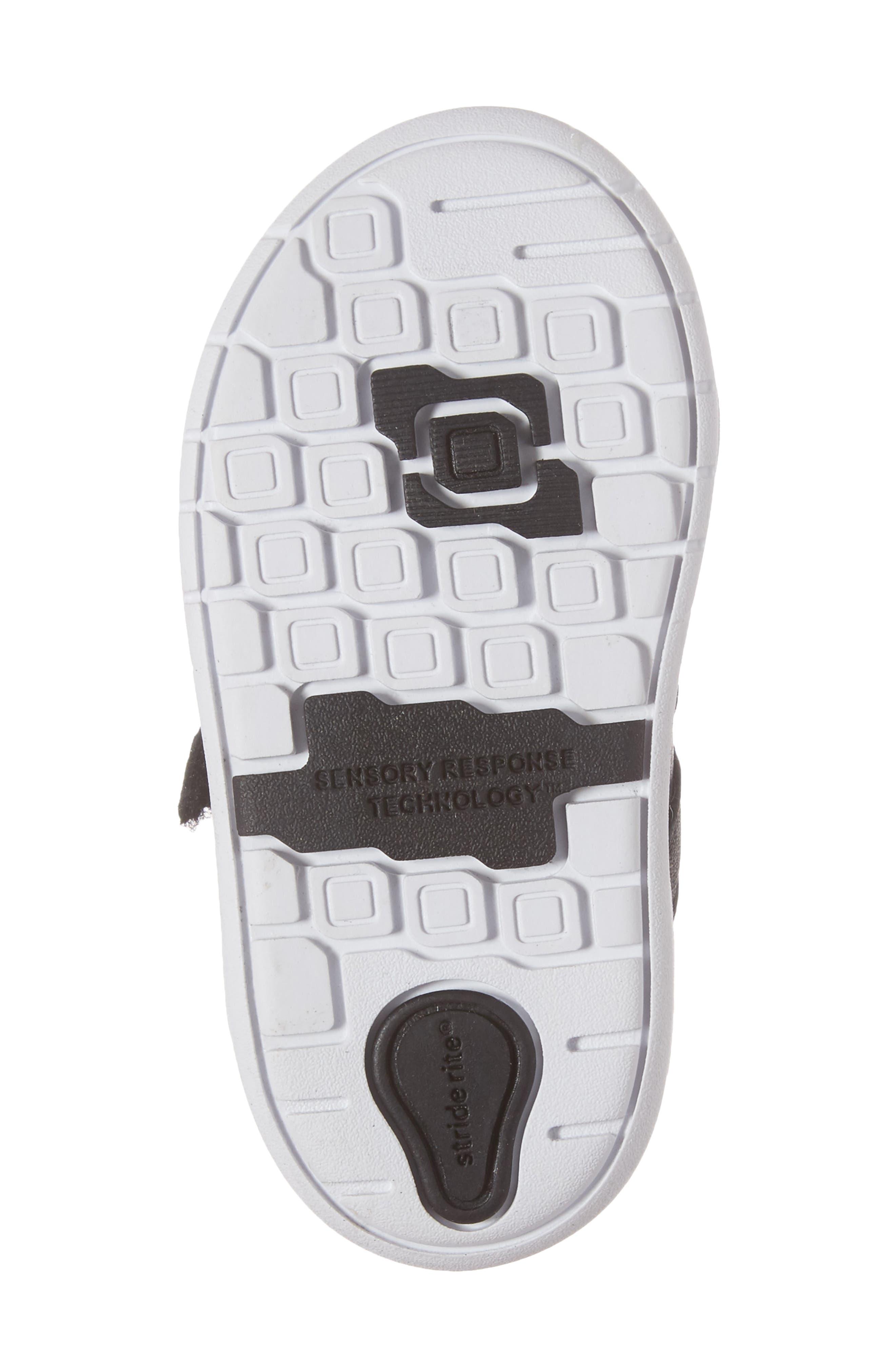 SRT Noe Sneaker,                             Alternate thumbnail 6, color,                             BLACK
