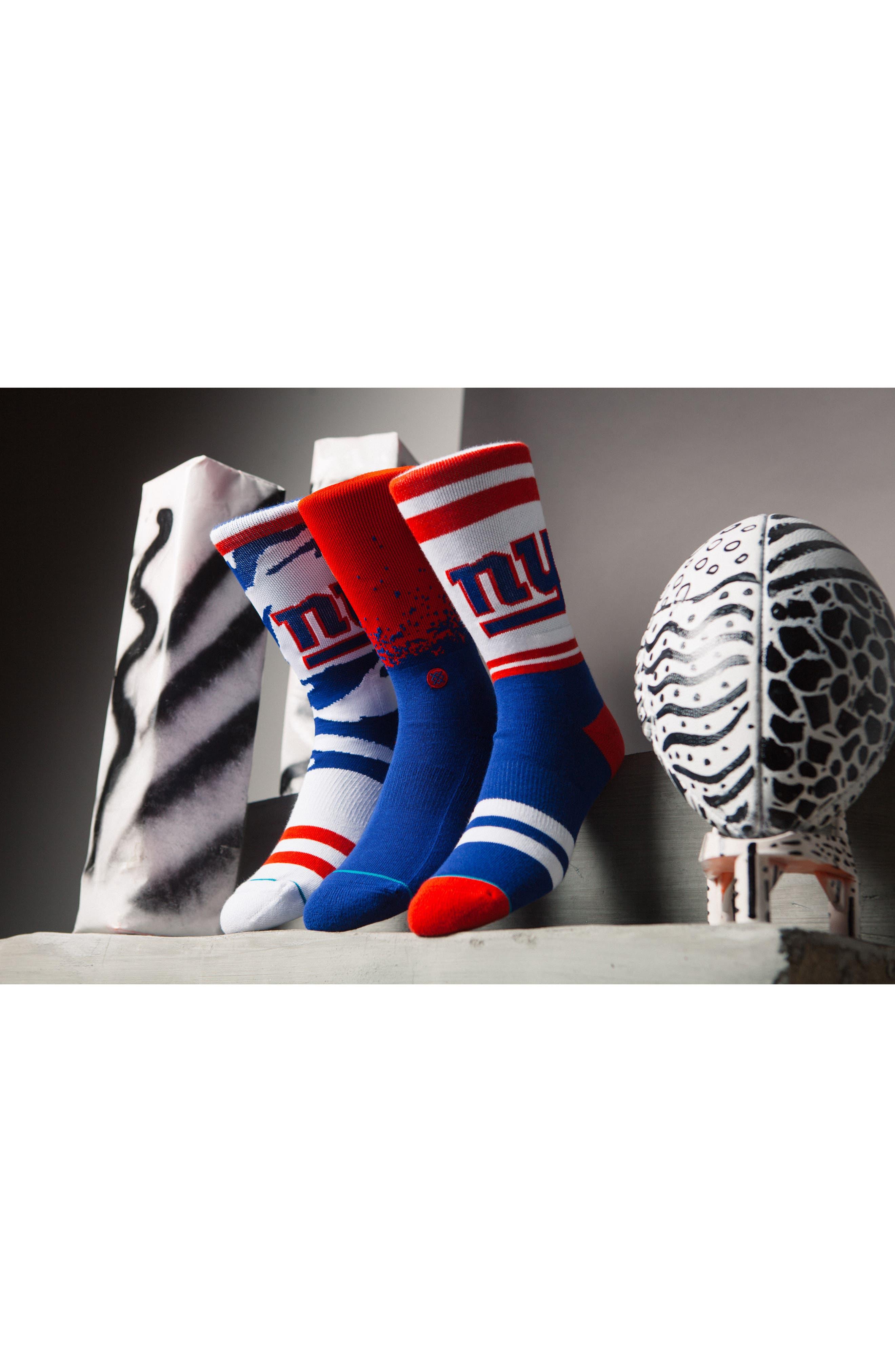 New York Giants - Fade Socks,                             Alternate thumbnail 5, color,                             400