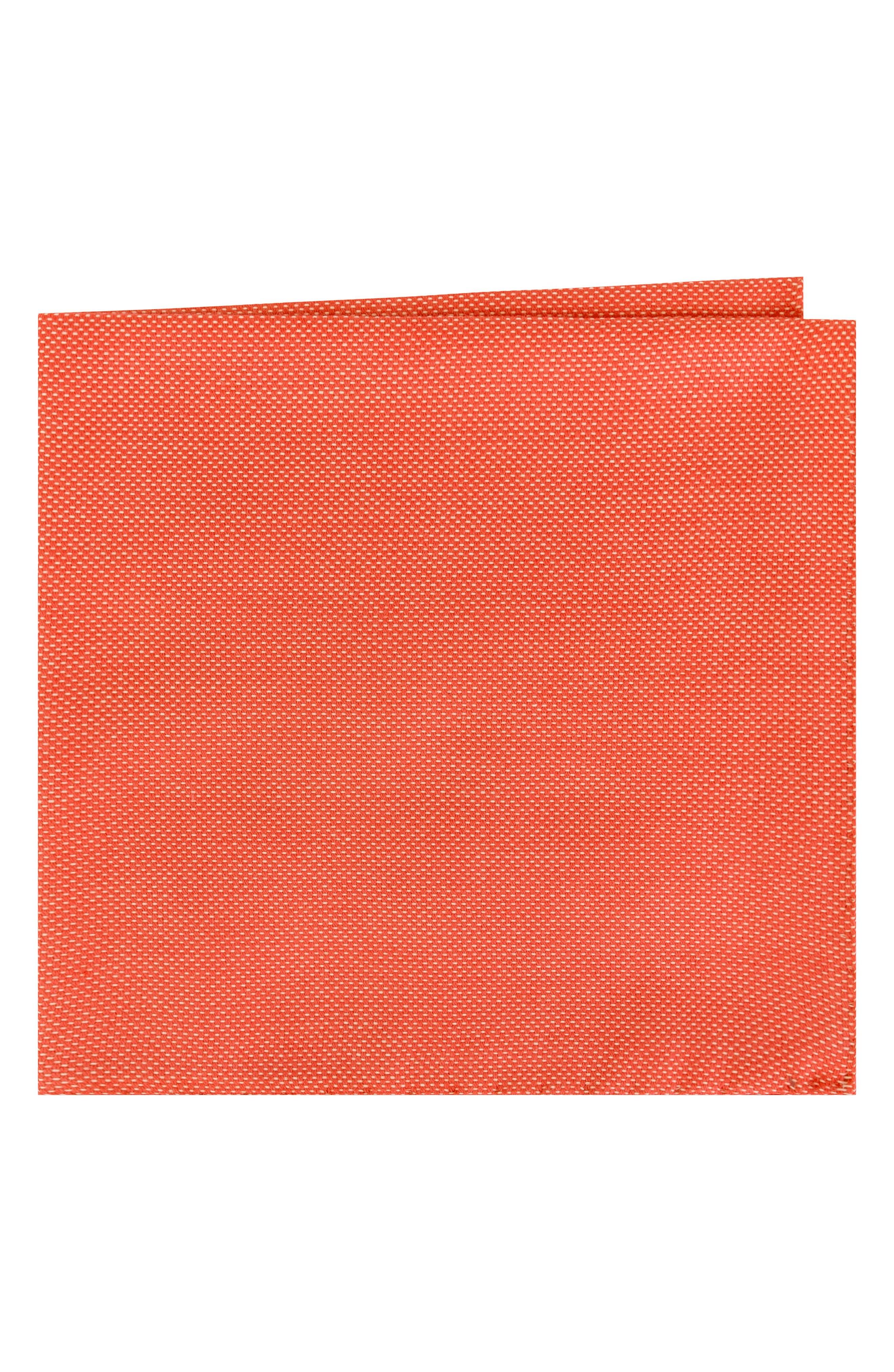 Solid Cotton Pocket Square,                             Main thumbnail 7, color,
