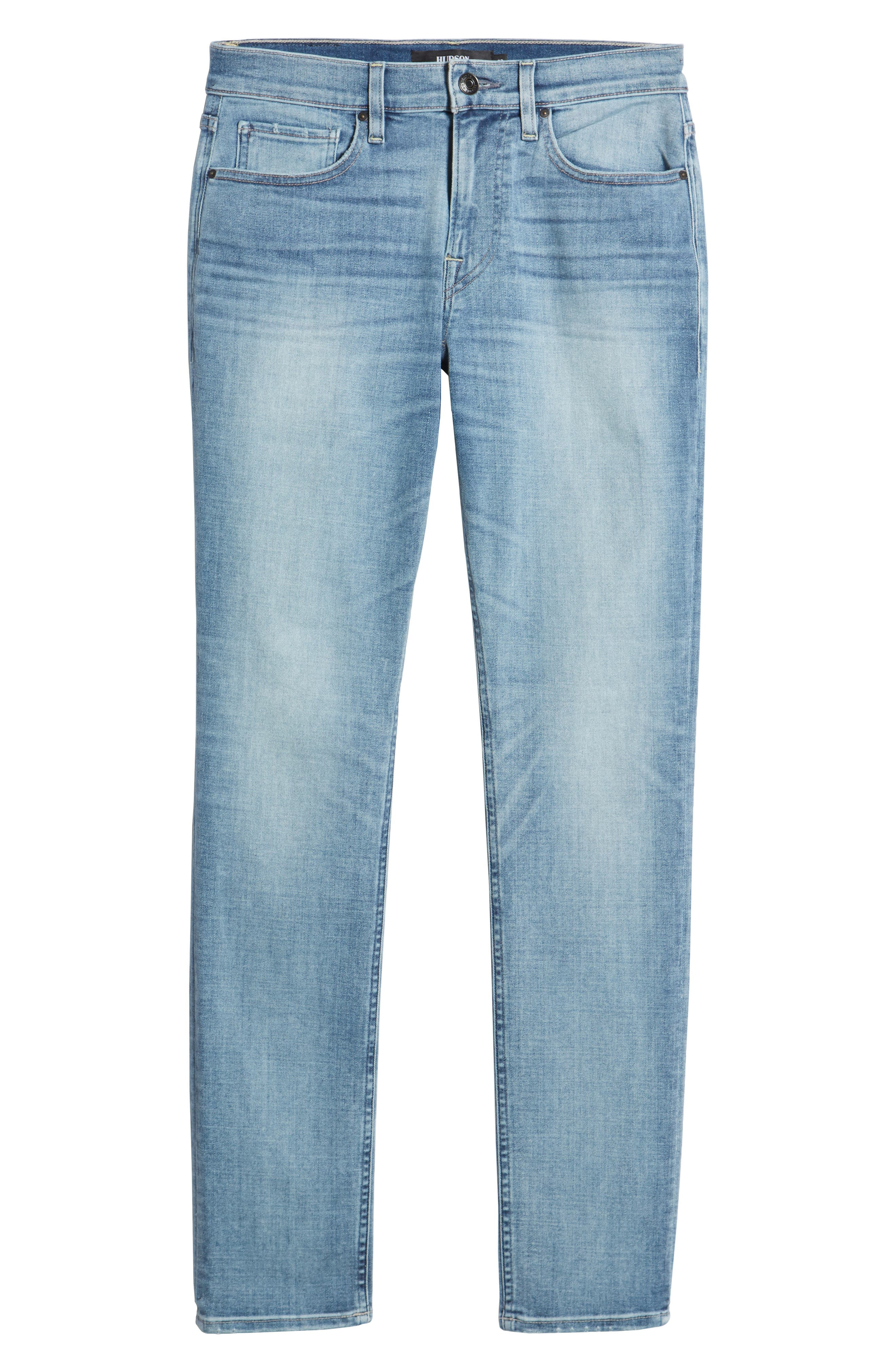 Axl Skinny Jeans,                             Alternate thumbnail 6, color,                             ROSEWEL