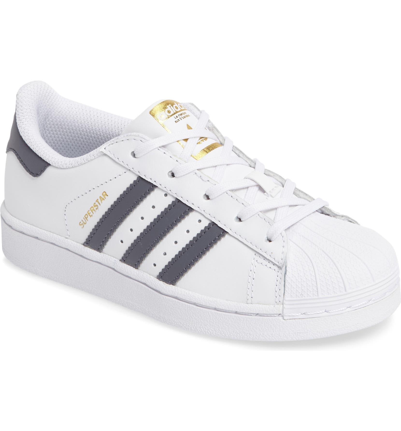 f3e833f7a4b6c6 adidas Superstar - Foundation Sneaker (Toddler   Little Kid)