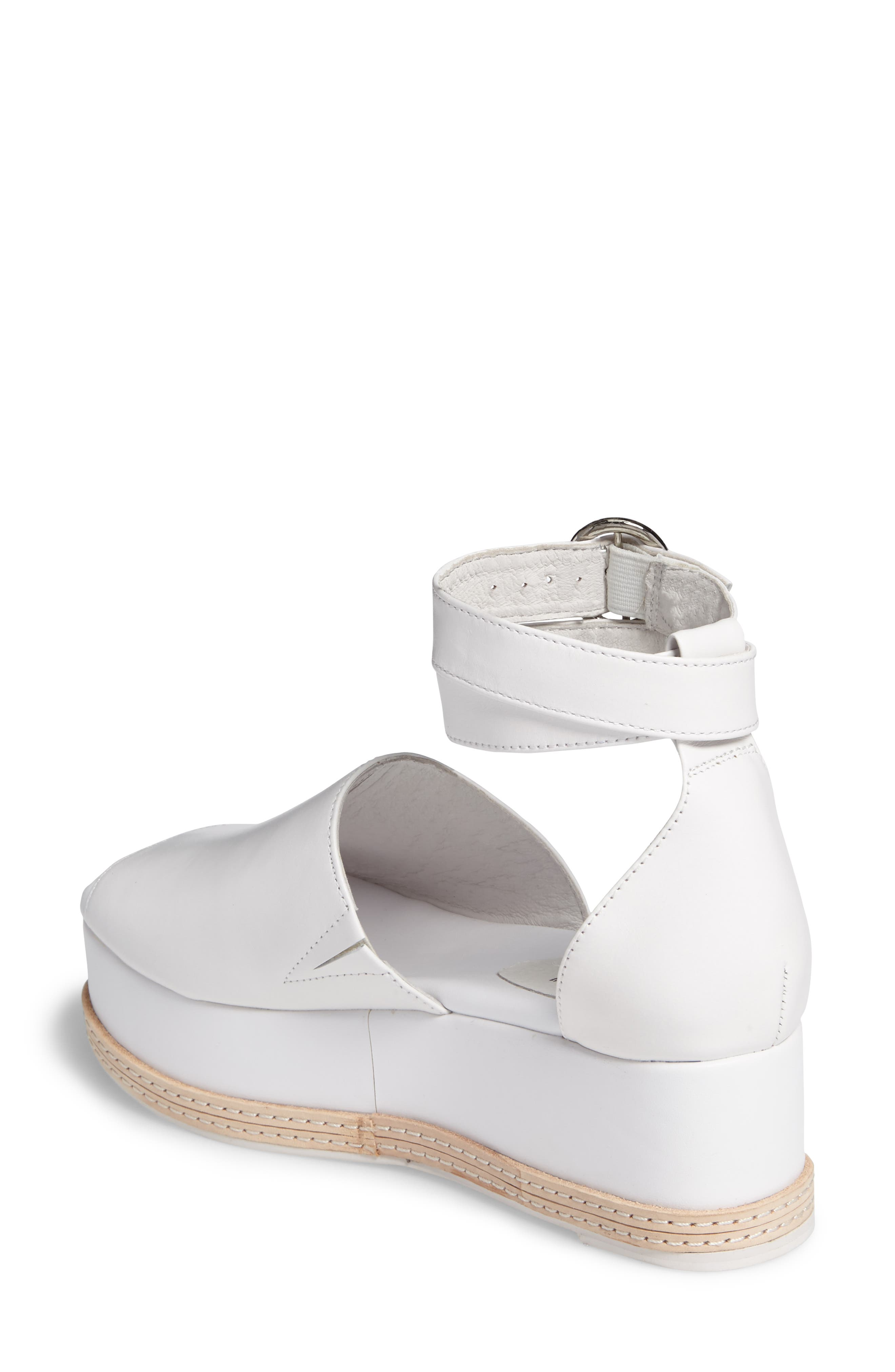 Baywood Ankle Strap Platform Sandal,                             Alternate thumbnail 2, color,                             100
