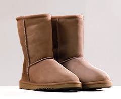 Play video about how to clean UGG boots.
