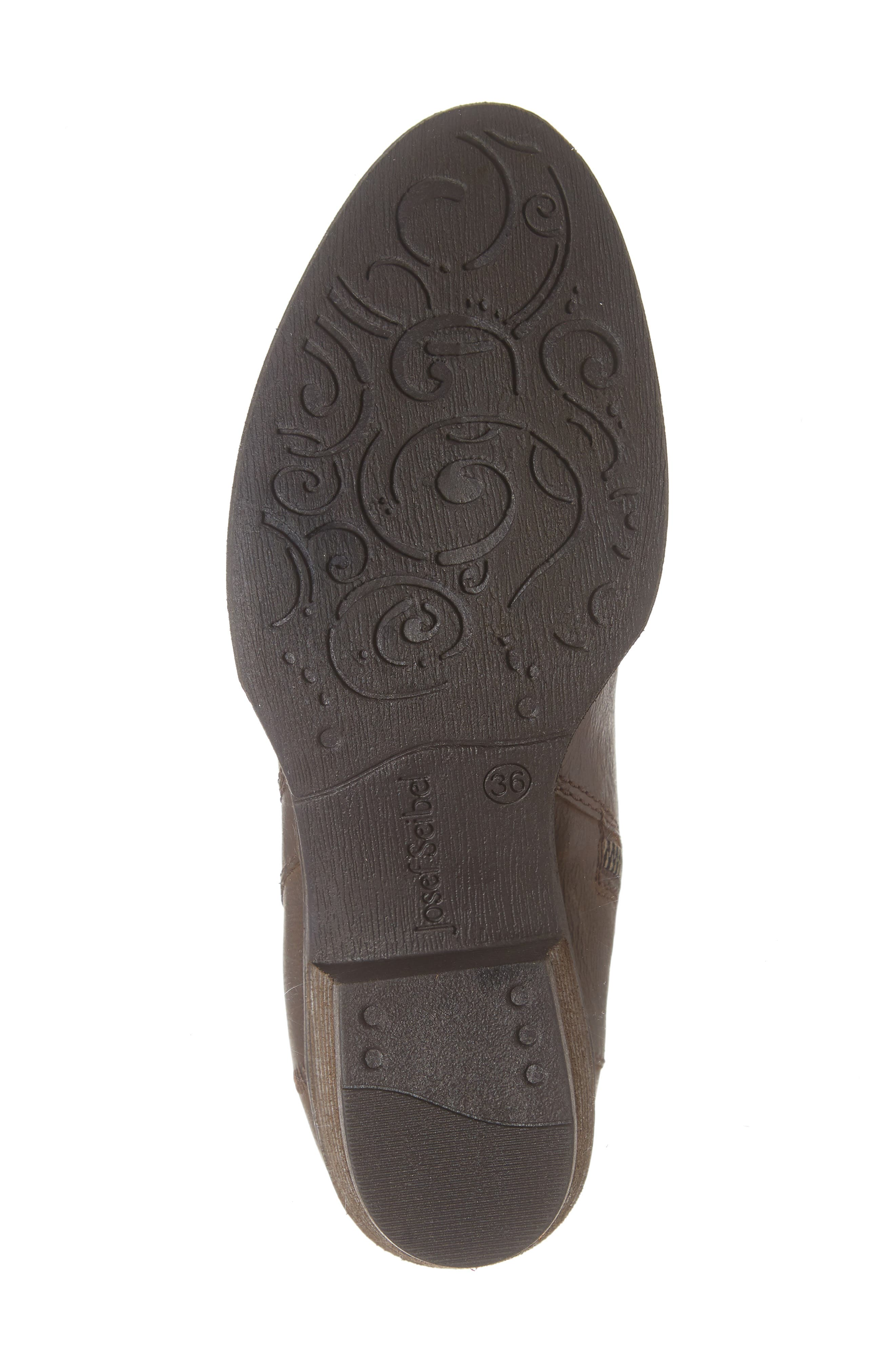 JOSEF SEIBEL,                             Daphne Bootie,                             Alternate thumbnail 6, color,                             MORO WASHED LEATHER