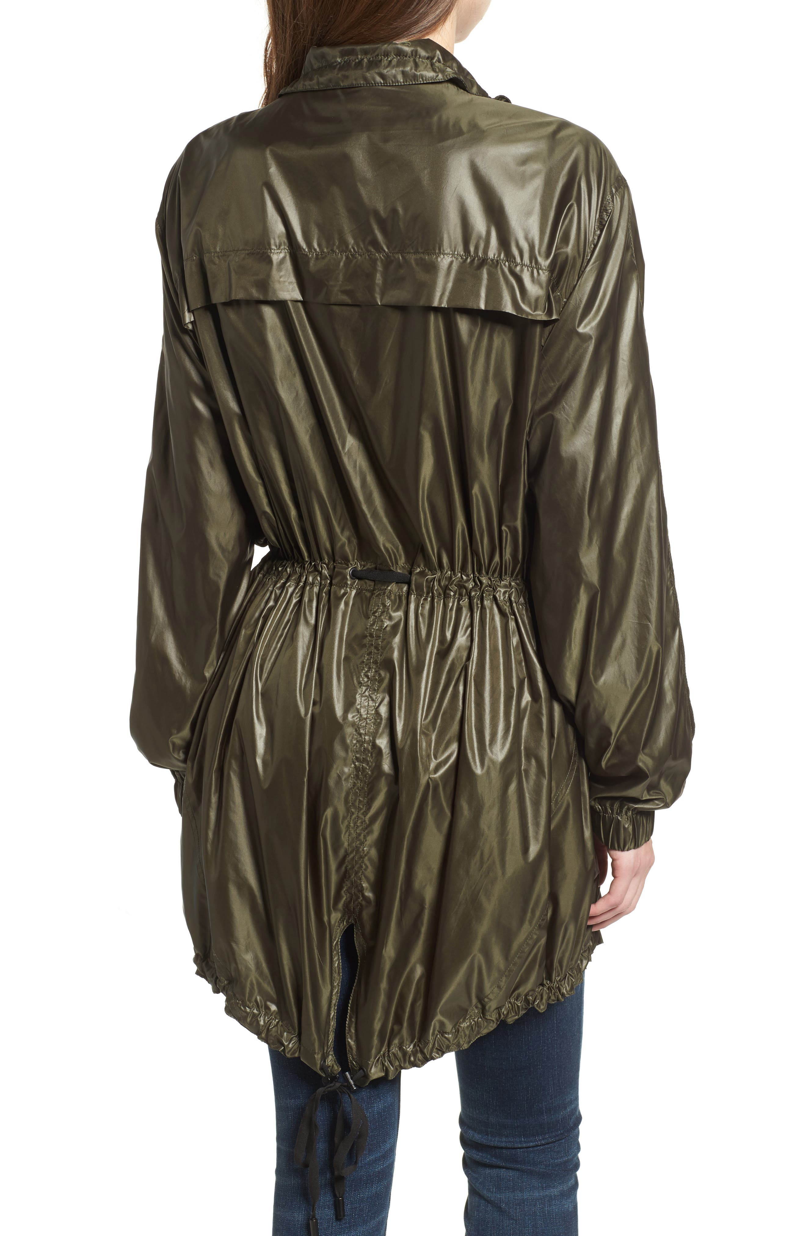 Lightweight Long Jacket,                             Alternate thumbnail 4, color,