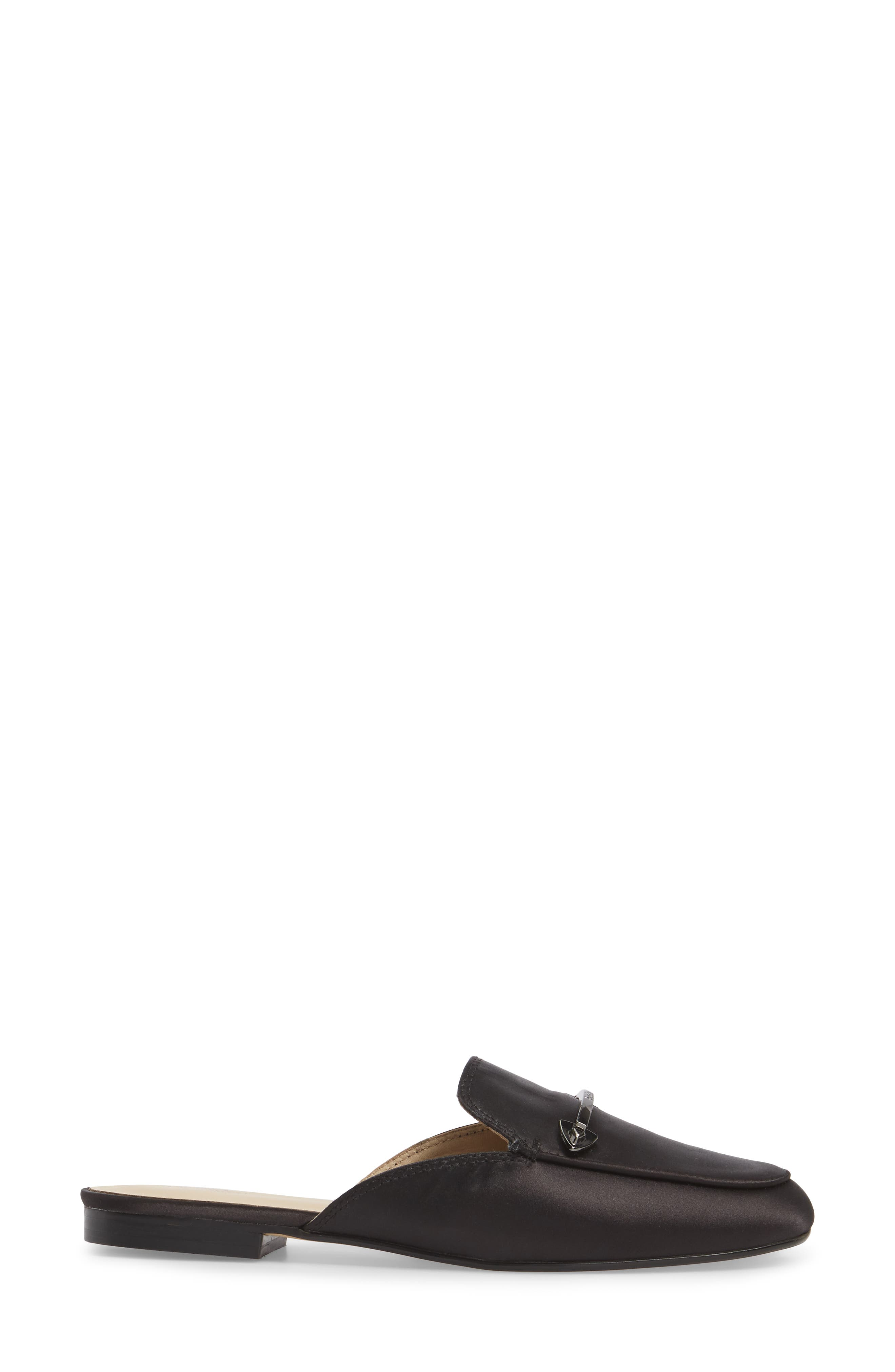 Clare Loafer Mule,                             Alternate thumbnail 3, color,                             003