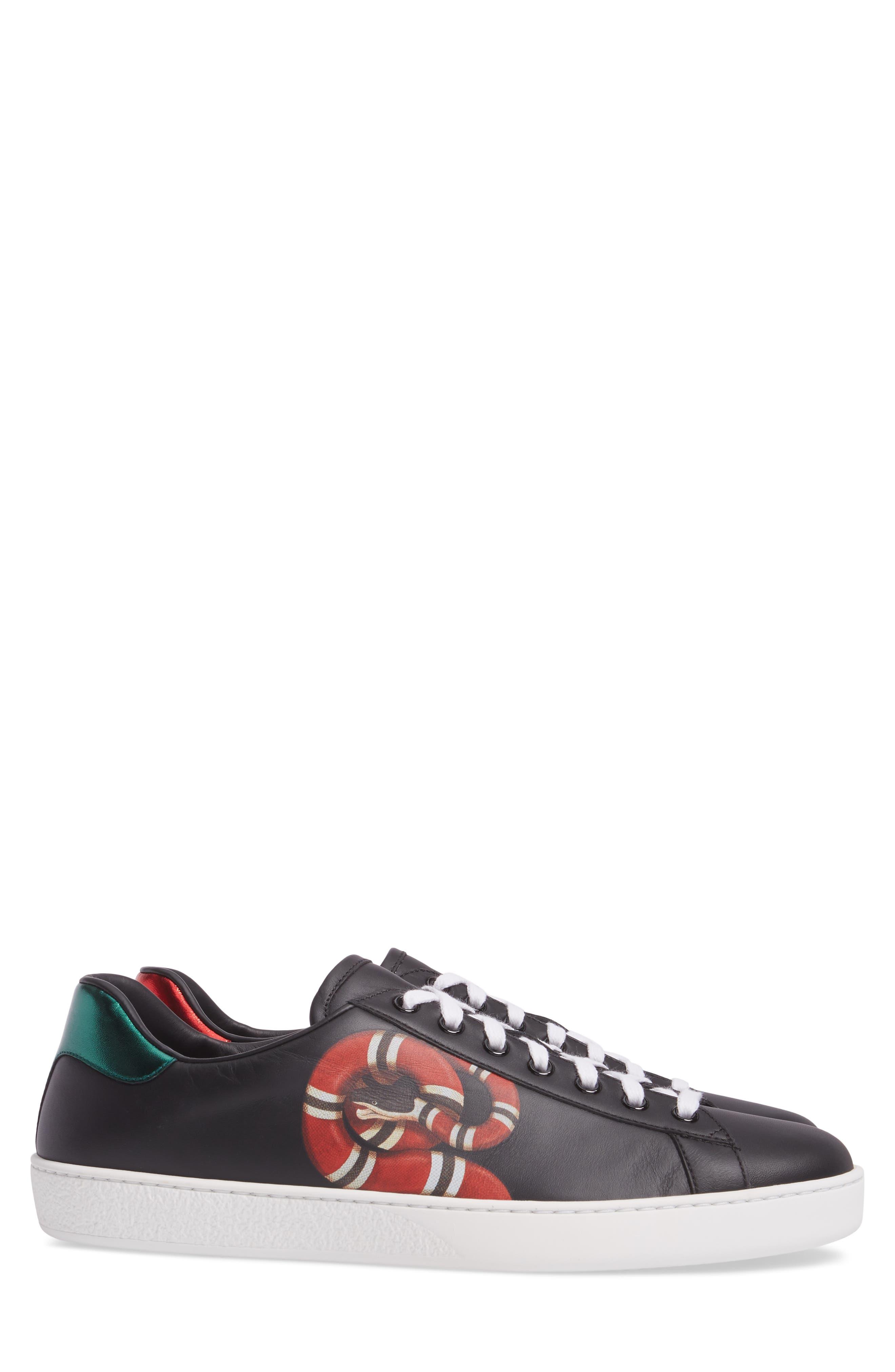 New Ace Kingsnake Print Sneaker,                             Alternate thumbnail 3, color,