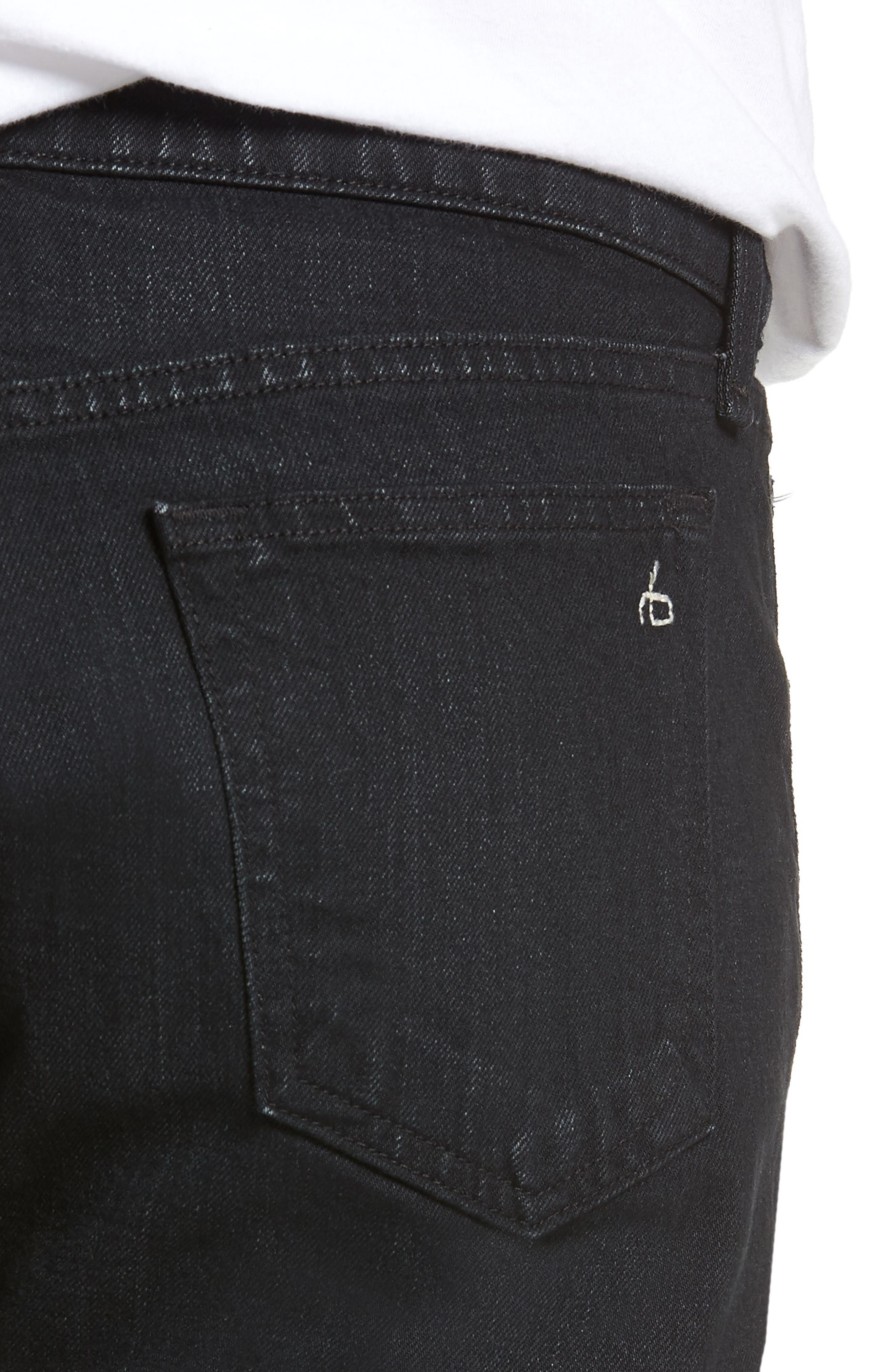 Fit 1 Skinny Fit Jeans,                             Alternate thumbnail 4, color,                             DEVON