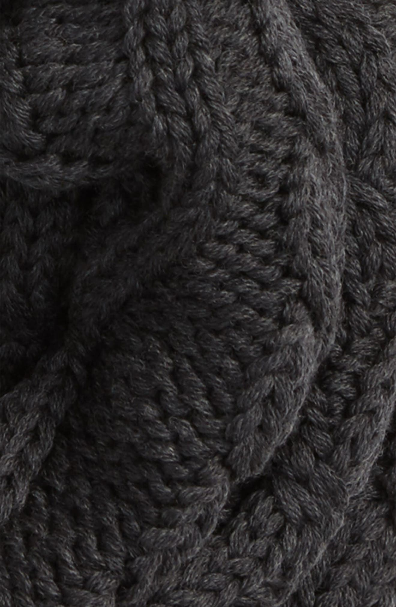 Chunky Cable Wool Snood,                             Alternate thumbnail 8, color,