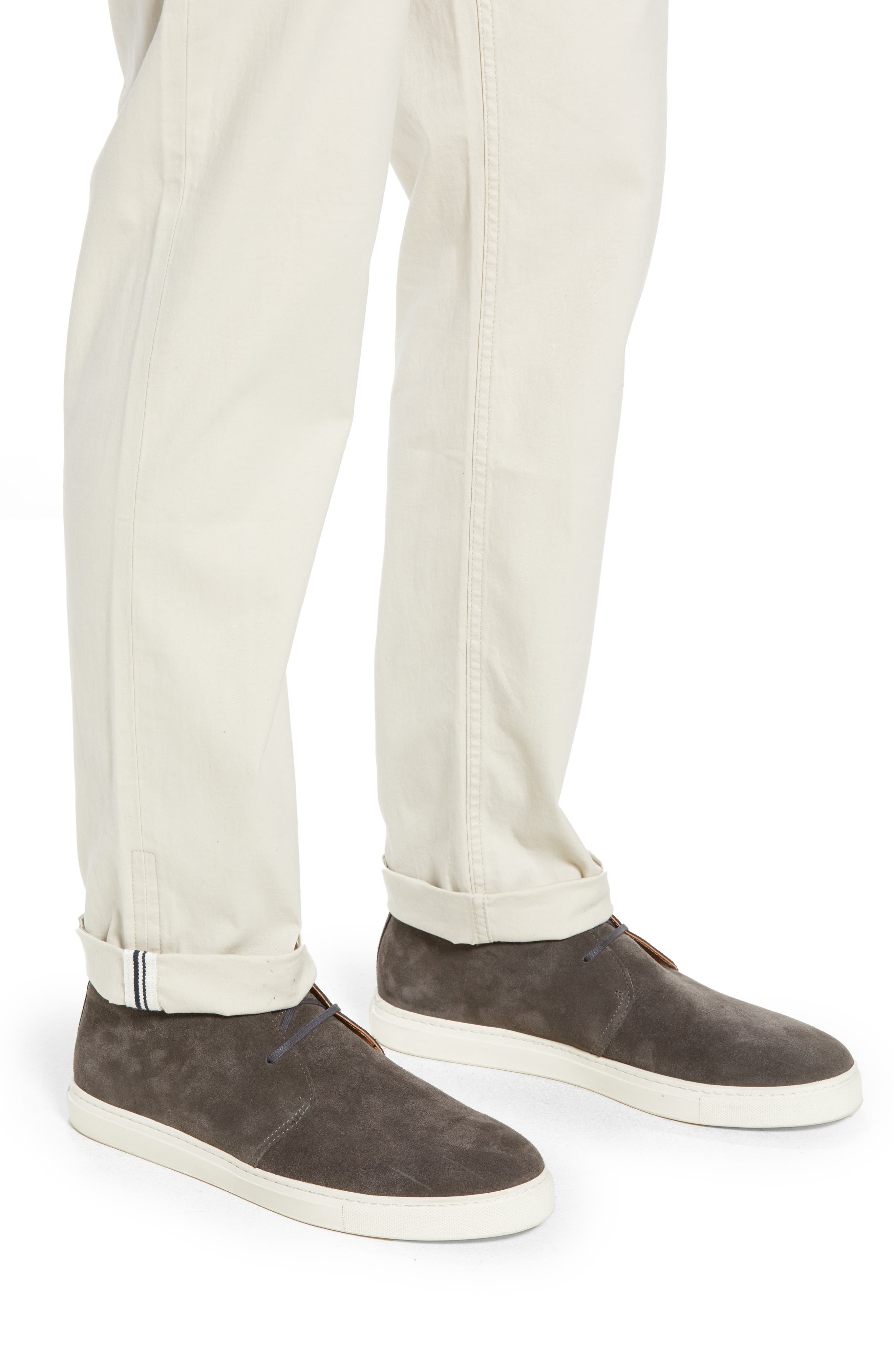 Slim Fit Stretch Chinos,                             Alternate thumbnail 4, color,                             270