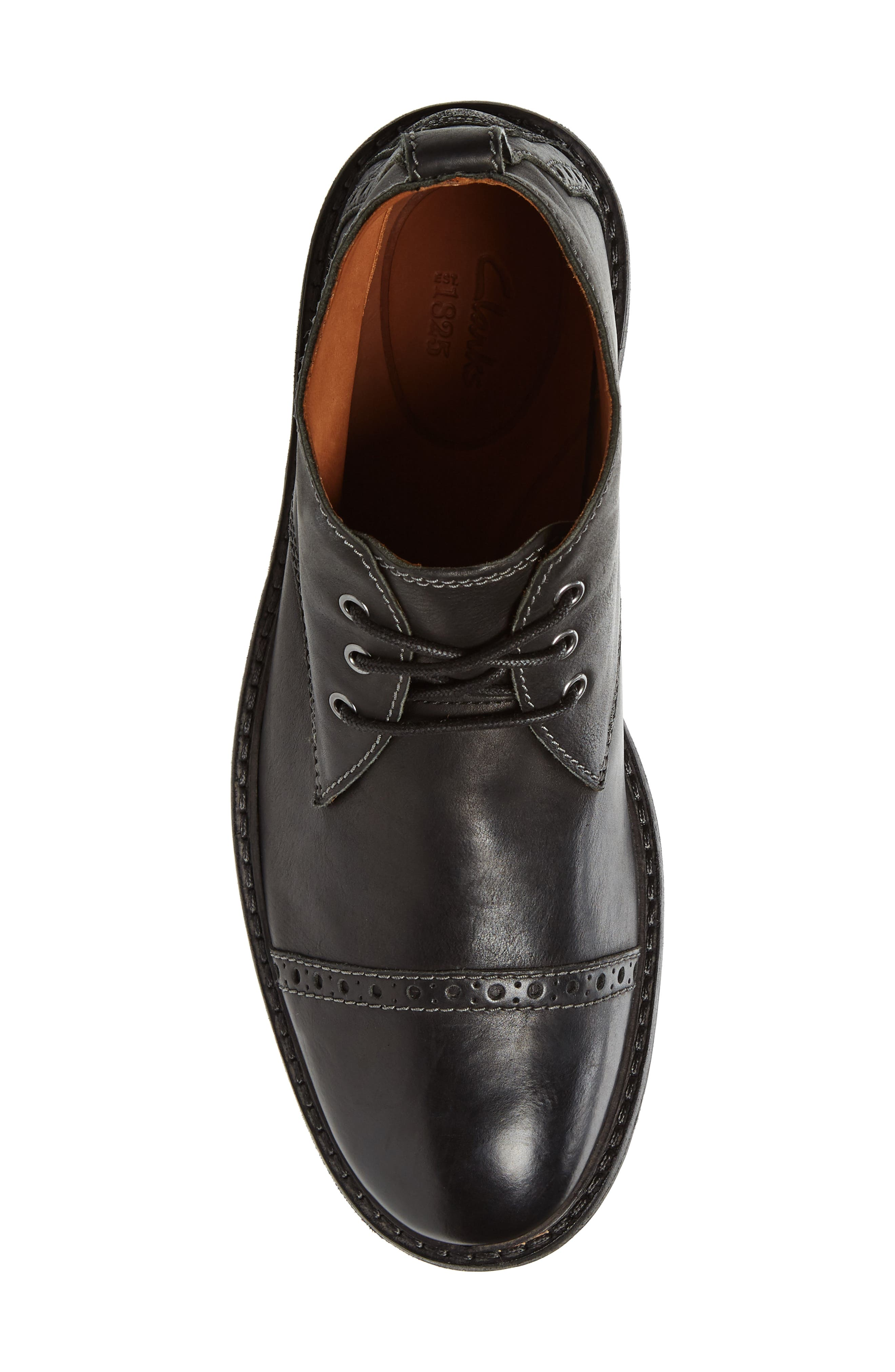 Clarkdale Water Resistant Chukka Boot,                             Alternate thumbnail 5, color,                             003
