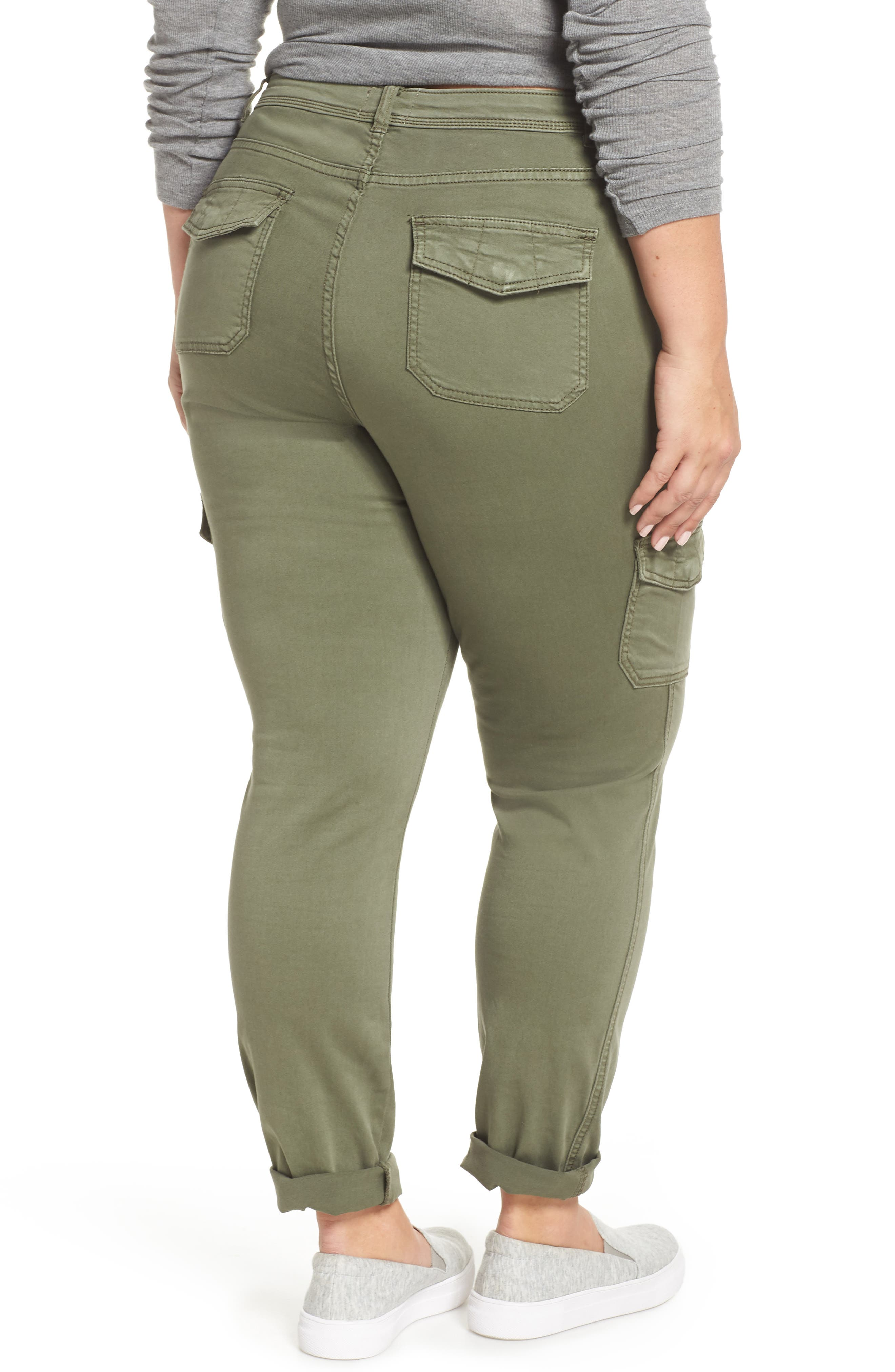 Stretch Twill Utility Pants,                             Alternate thumbnail 2, color,                             301