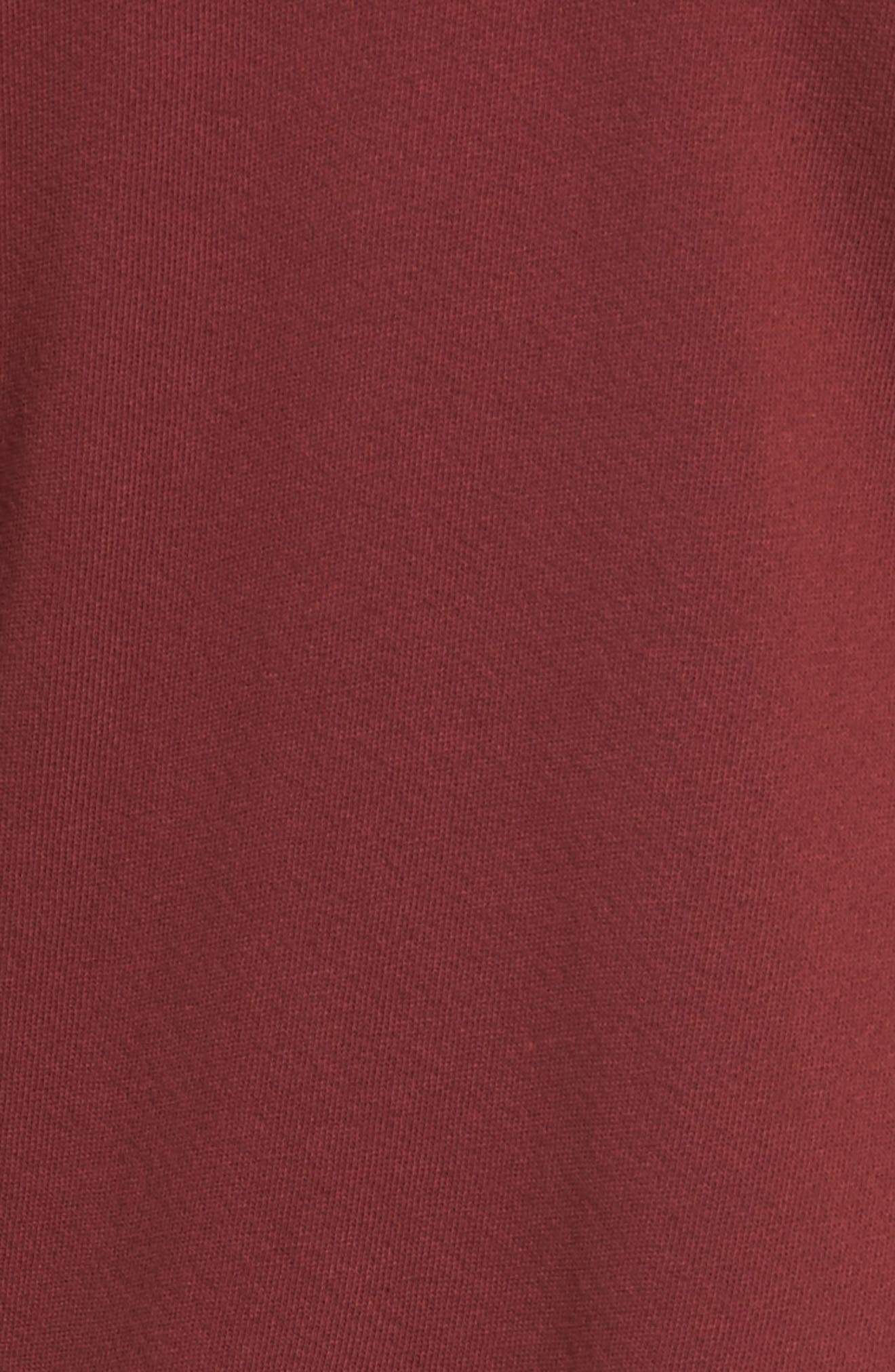 The Ruffle Sweatshirt,                             Alternate thumbnail 5, color,                             601