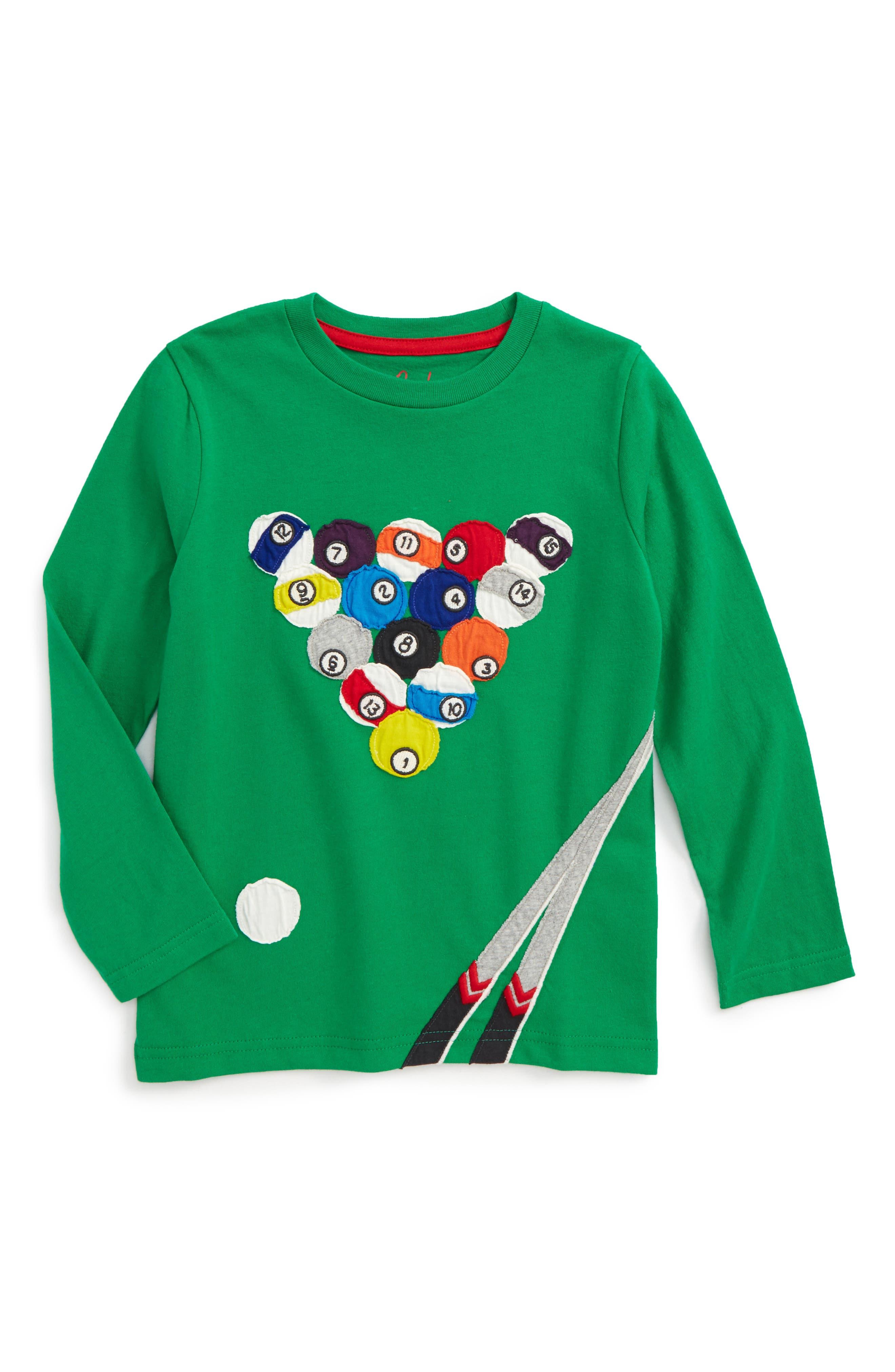 Sporty Appliqué T-Shirt,                             Main thumbnail 1, color,                             334