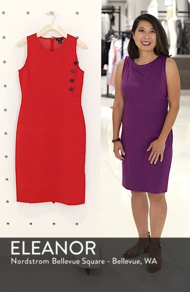 Knit Sheath Dress, sales video thumbnail