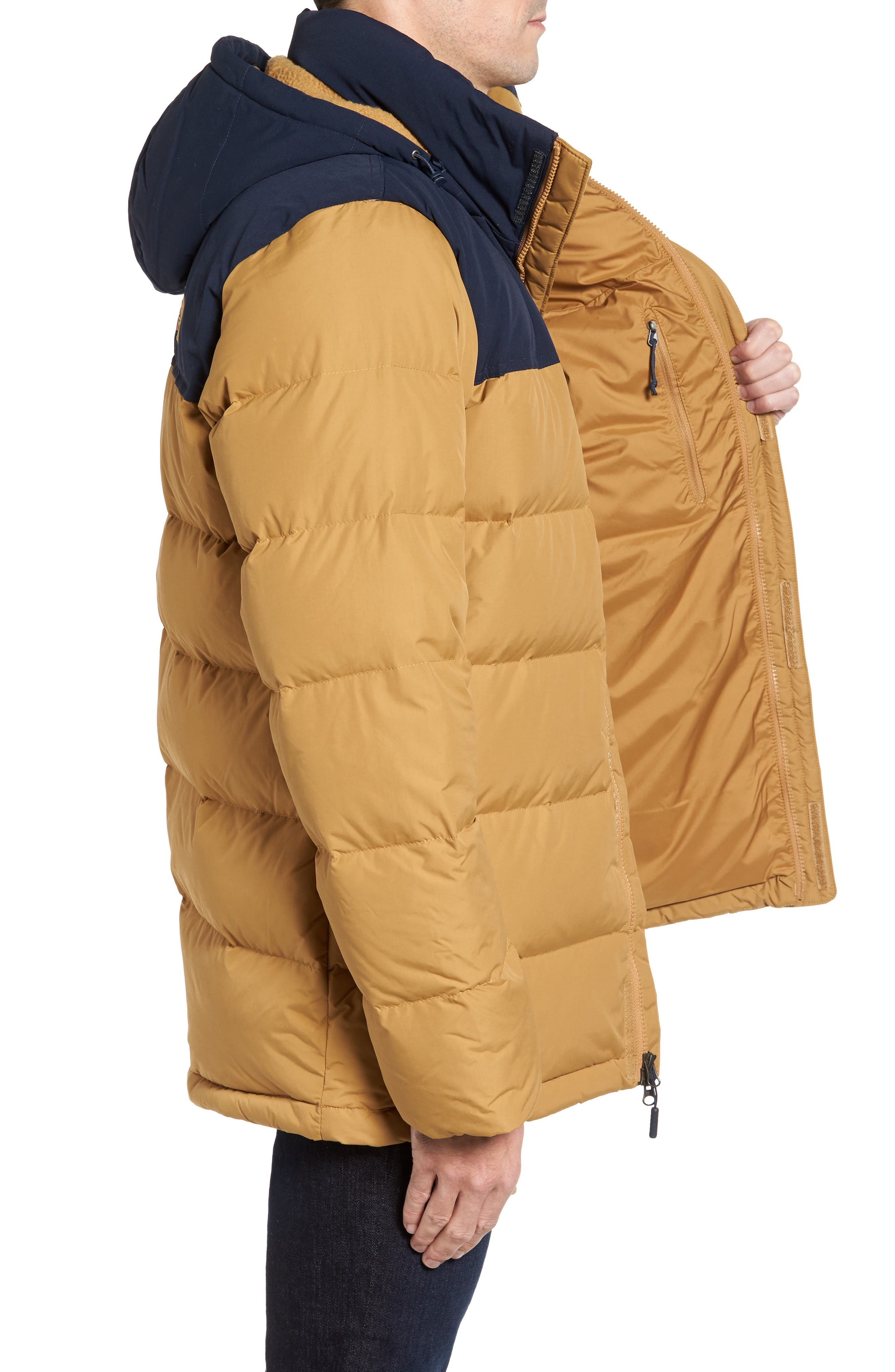 Nuptse Ridge Down Jacket,                             Alternate thumbnail 17, color,