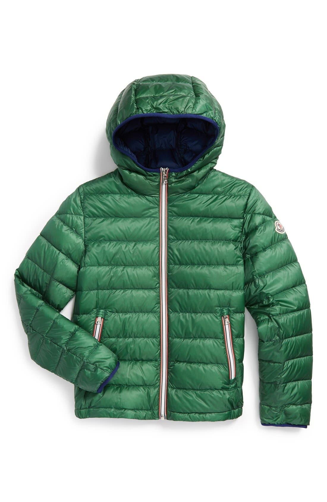 'Athenes' Hooded Down Jacket,                             Alternate thumbnail 2, color,                             307
