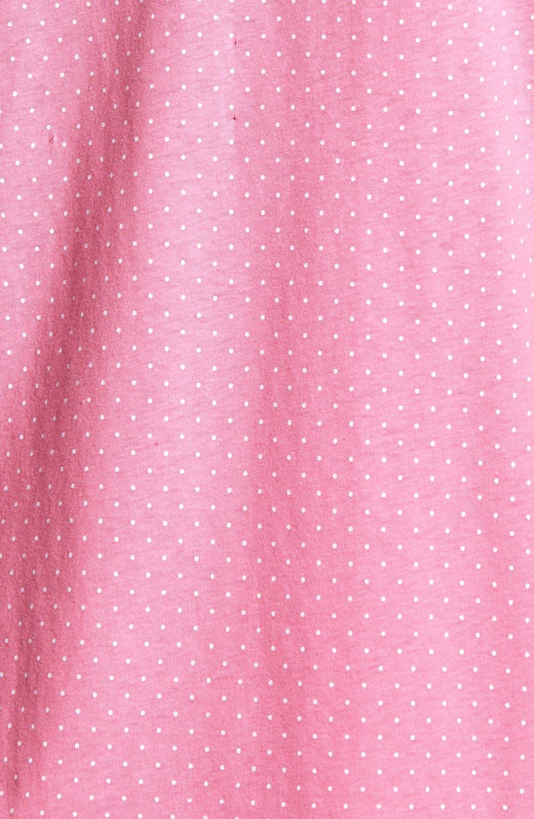 Knit Crop Pajamas,                             Alternate thumbnail 21, color,