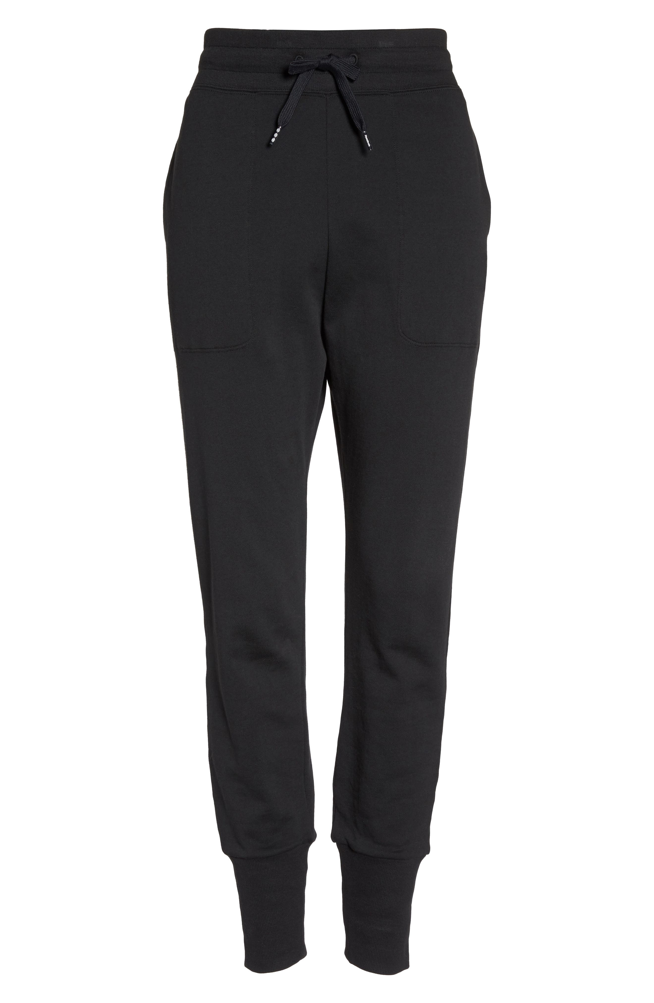 French Terry Jogger Pants,                             Alternate thumbnail 7, color,