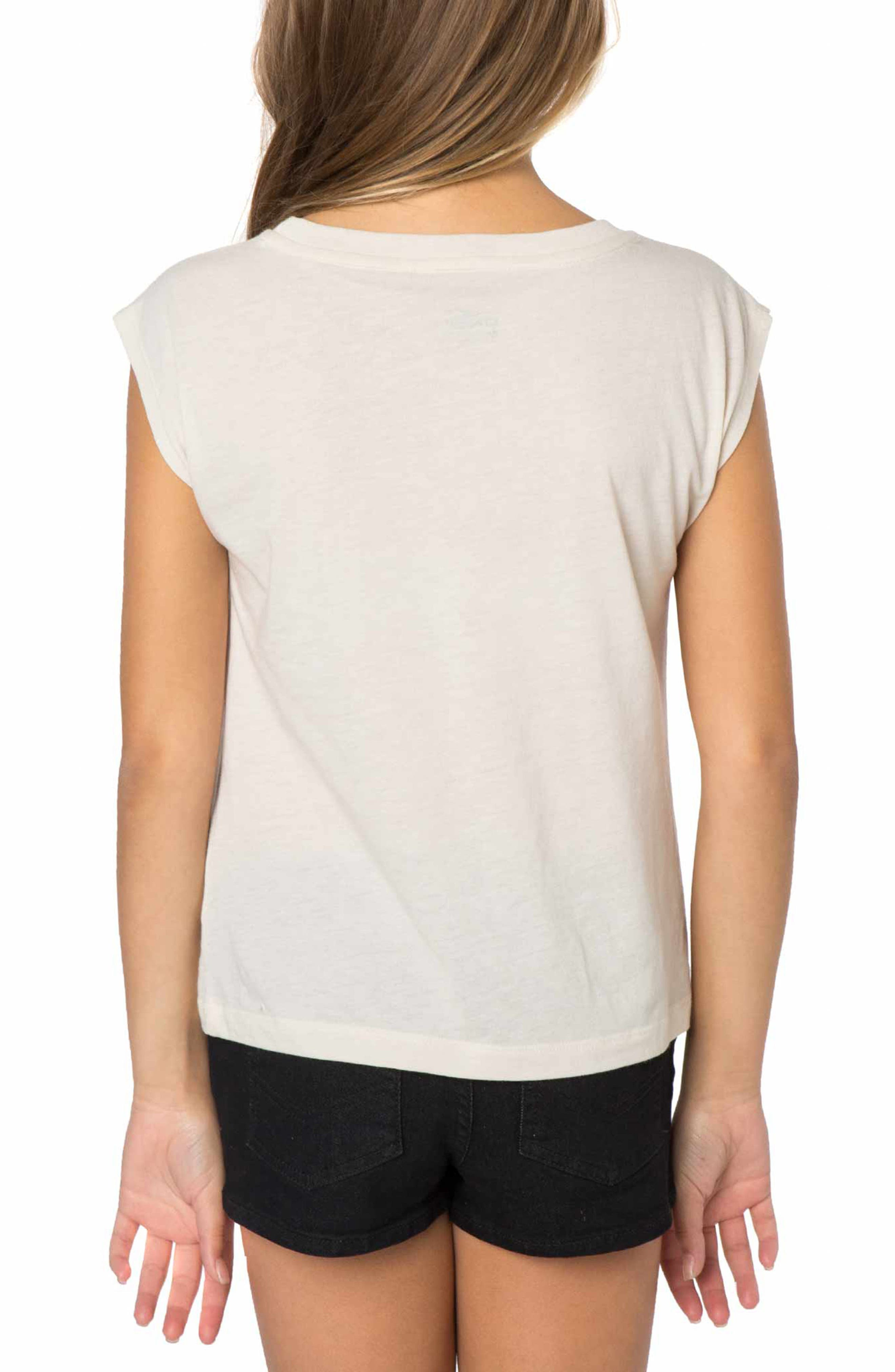 Shell Phone Graphic Print Tee,                             Alternate thumbnail 3, color,