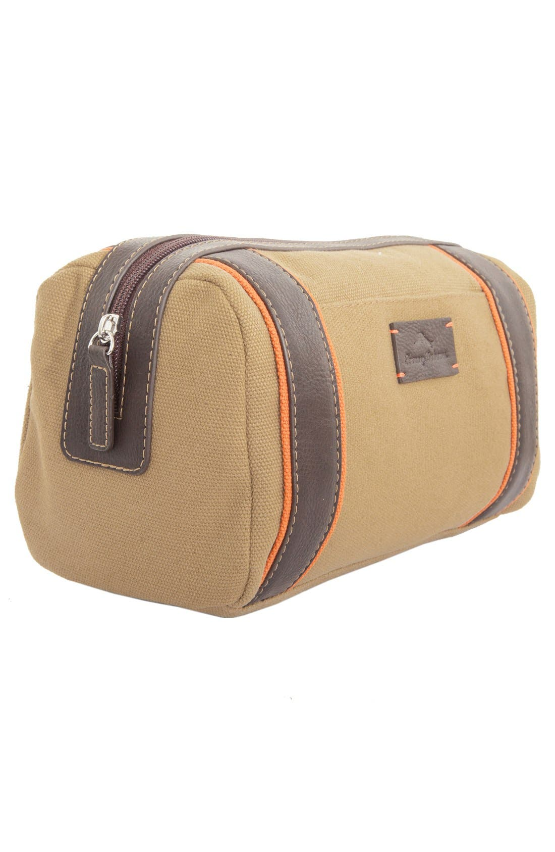 Canvas Dopp Kit,                             Alternate thumbnail 2, color,                             260