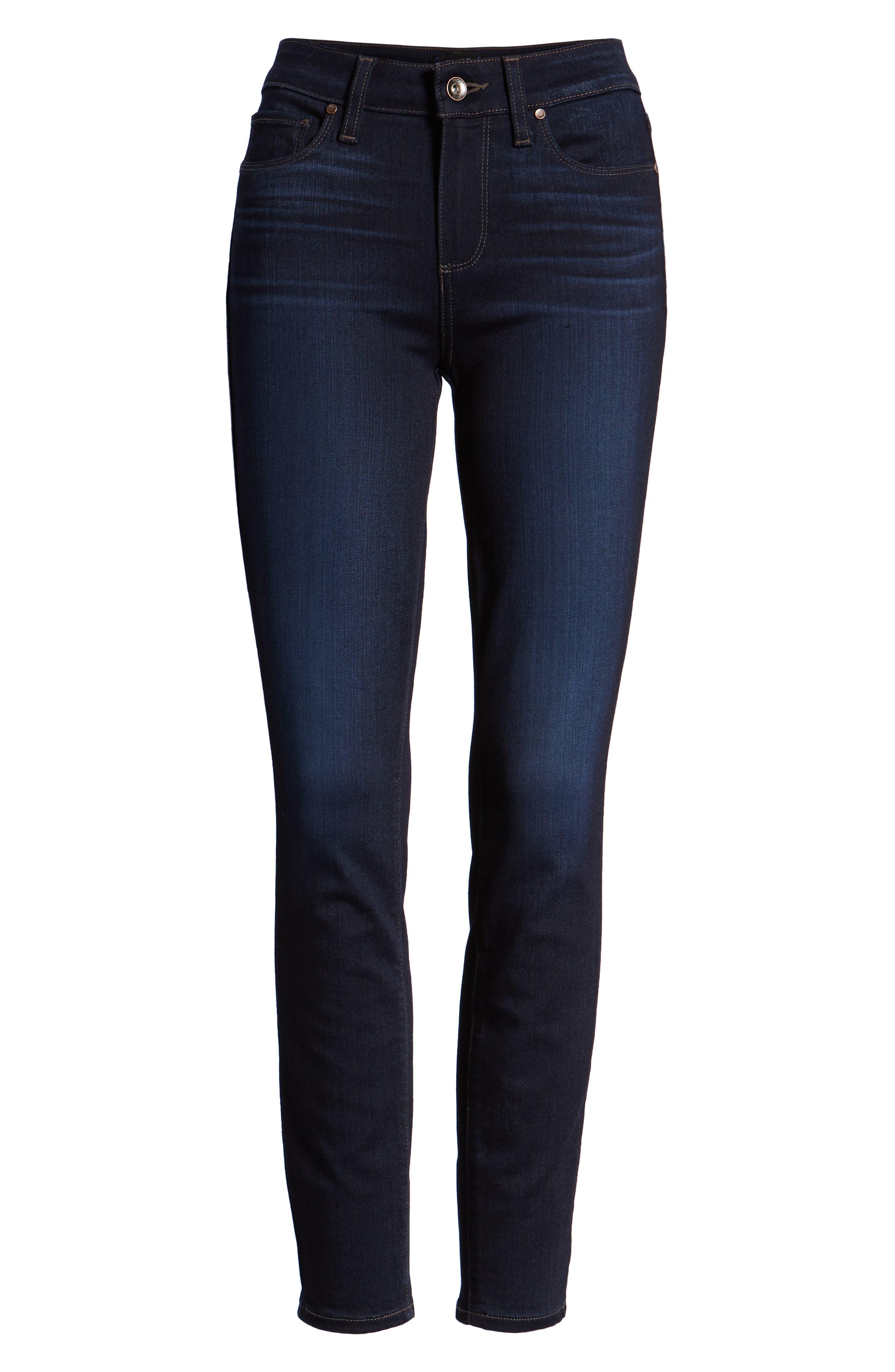 Transcend - Verdugo Ankle Skinny Jeans,                             Alternate thumbnail 7, color,                             RENNA