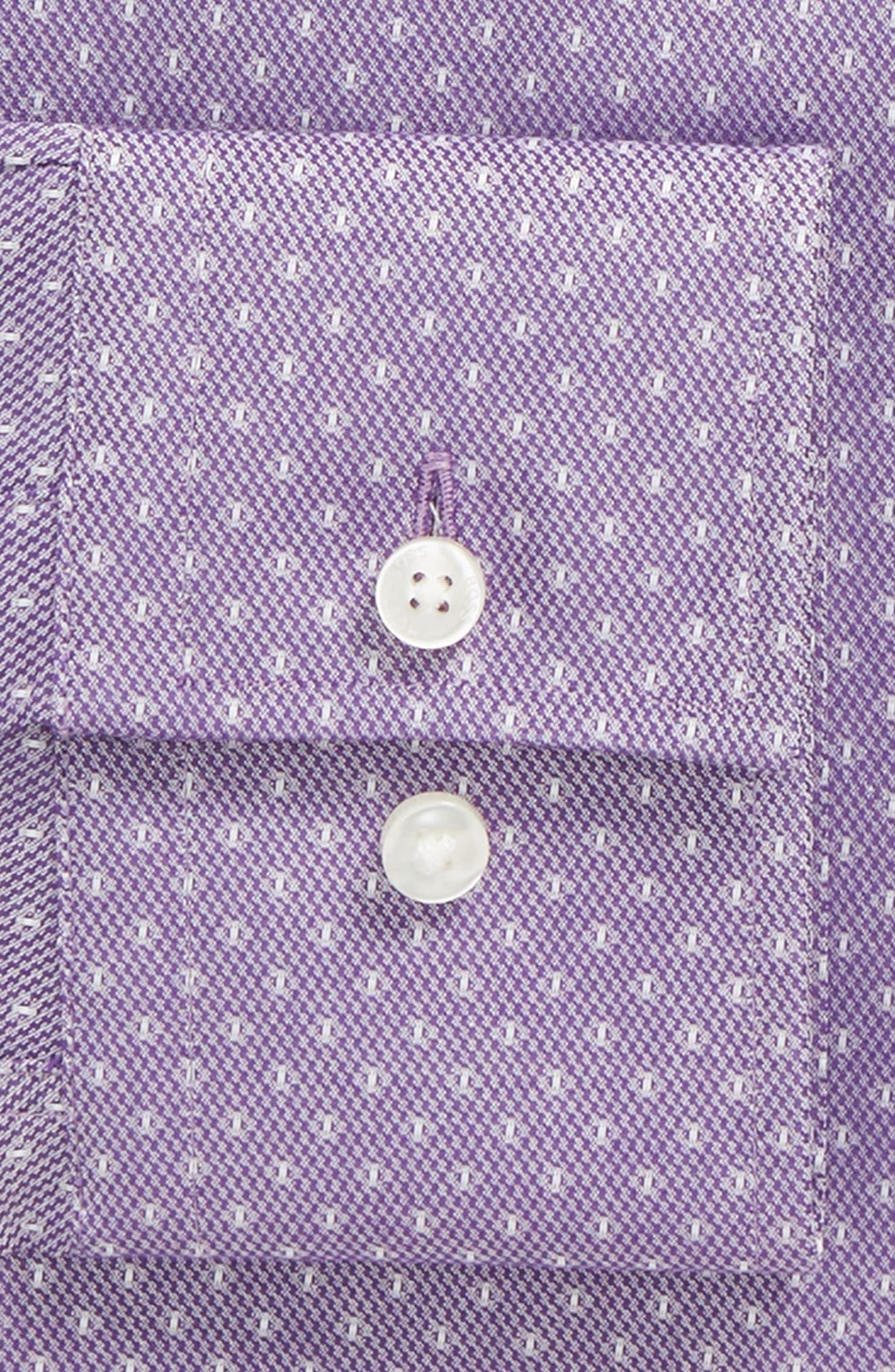BOSS,                             Jason Slim Fit Dot Dress Shirt,                             Alternate thumbnail 2, color,                             512