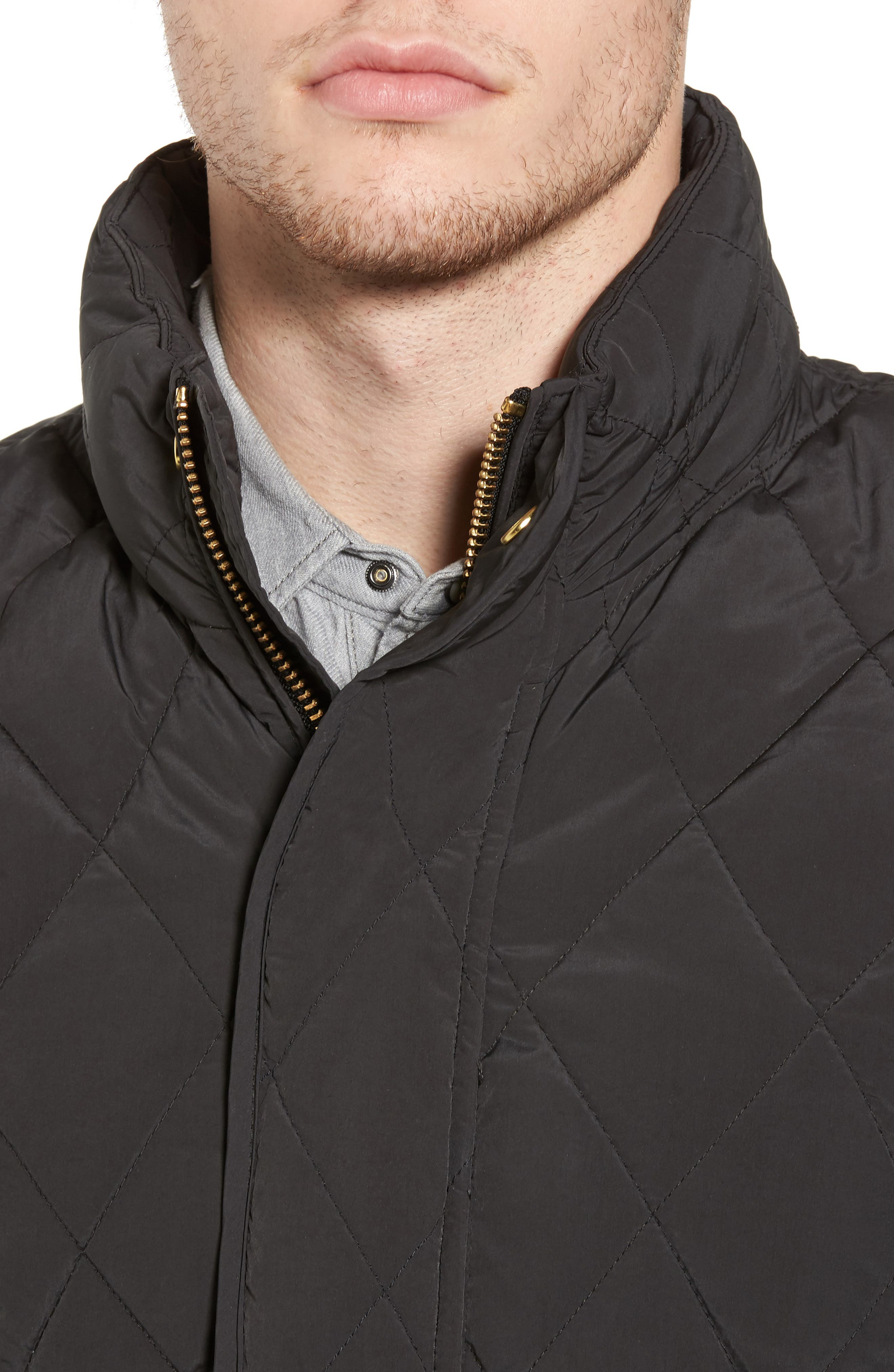 Lightweight Quilted Jacket,                             Alternate thumbnail 4, color,                             030
