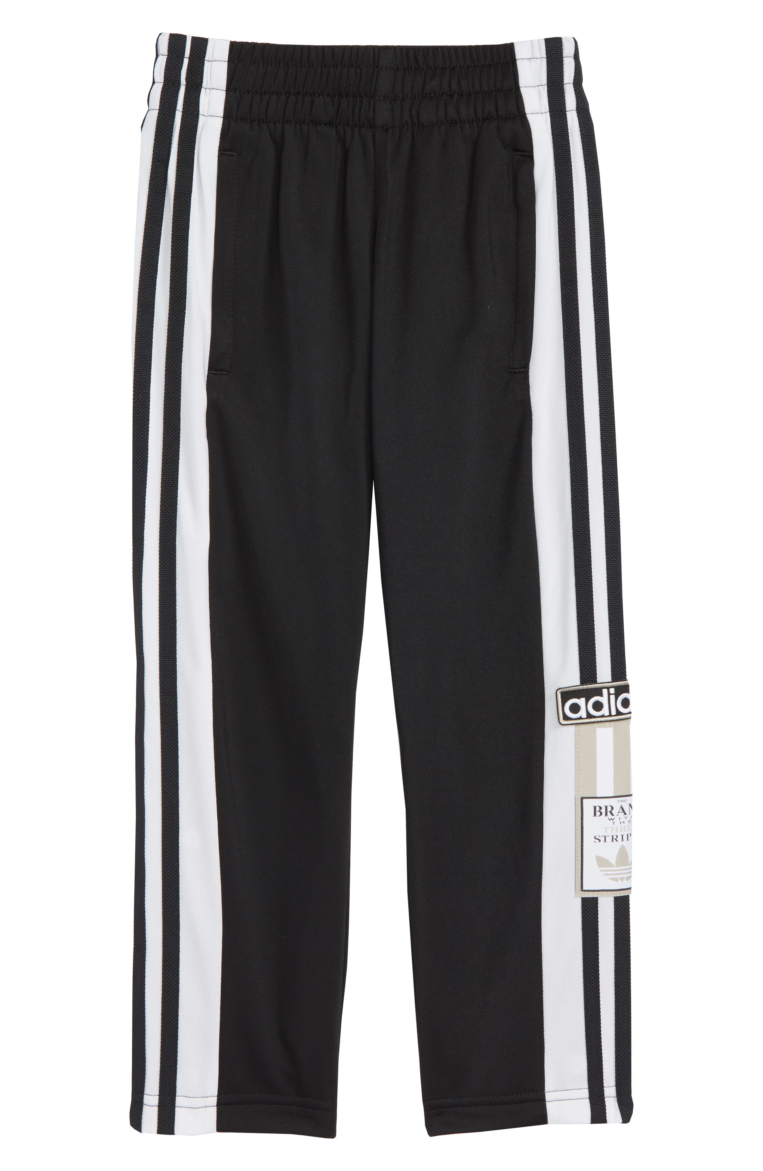Adibreak Sweatpants,                             Main thumbnail 1, color,                             BLACK/ WHITE