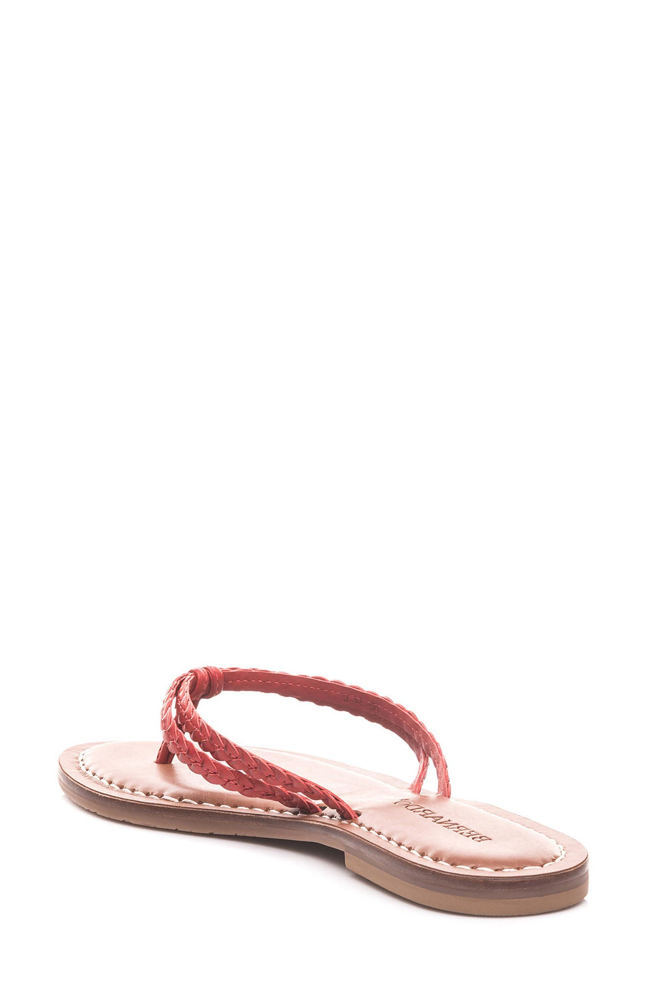 Bernardo Greta Braided Strap Sandal,                             Alternate thumbnail 11, color,