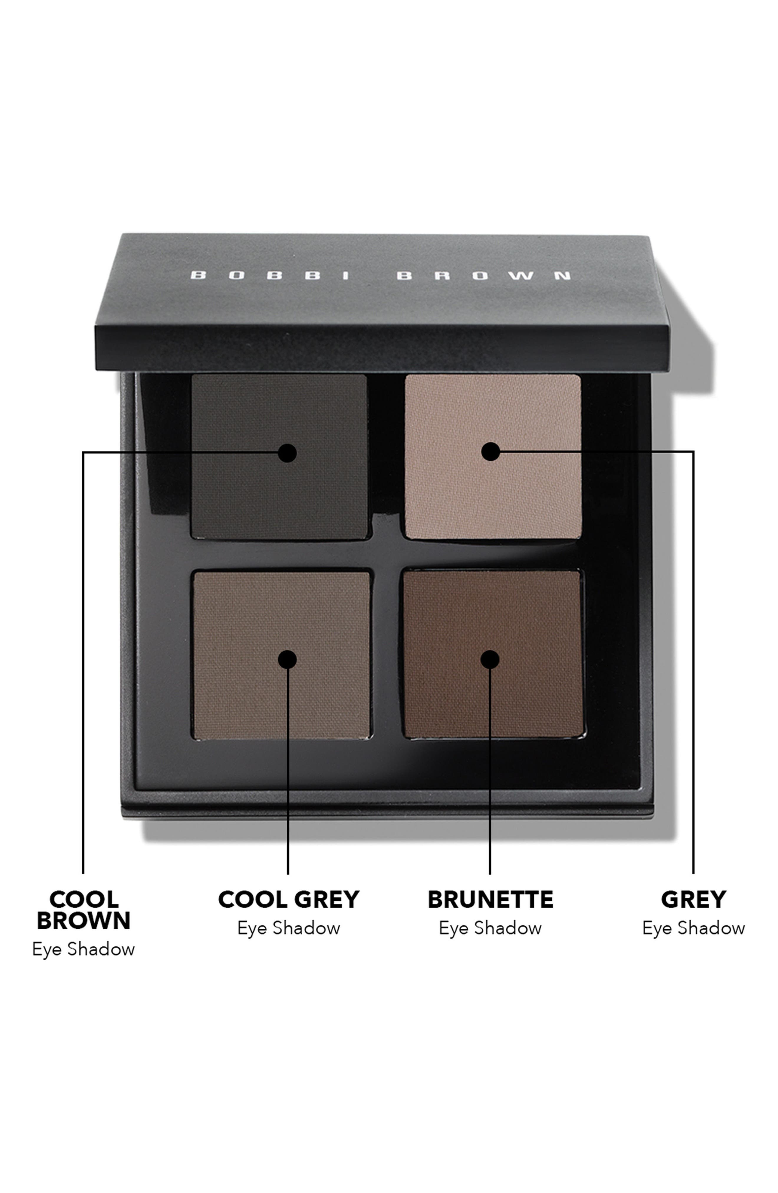 Downtown Cool Eyeshadow Palette,                             Alternate thumbnail 2, color,                             000