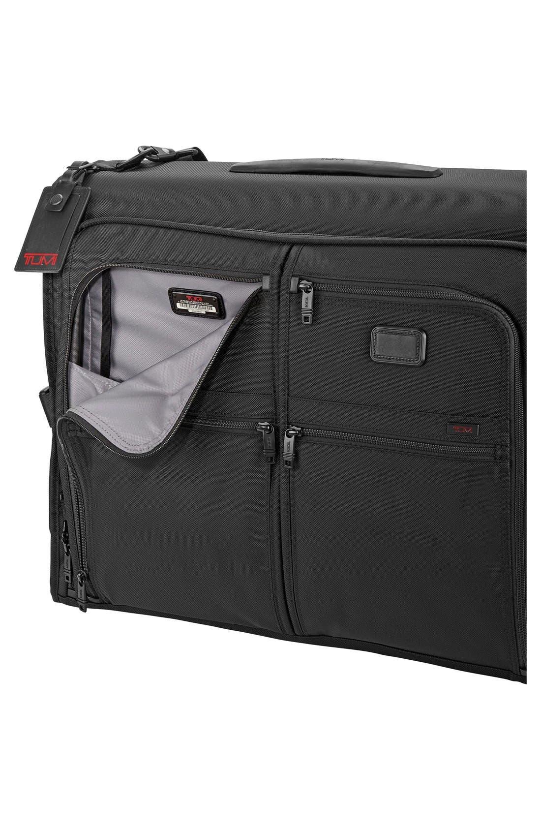 TUMI,                             Alpha 2 Classic Garment Bag,                             Alternate thumbnail 2, color,                             001