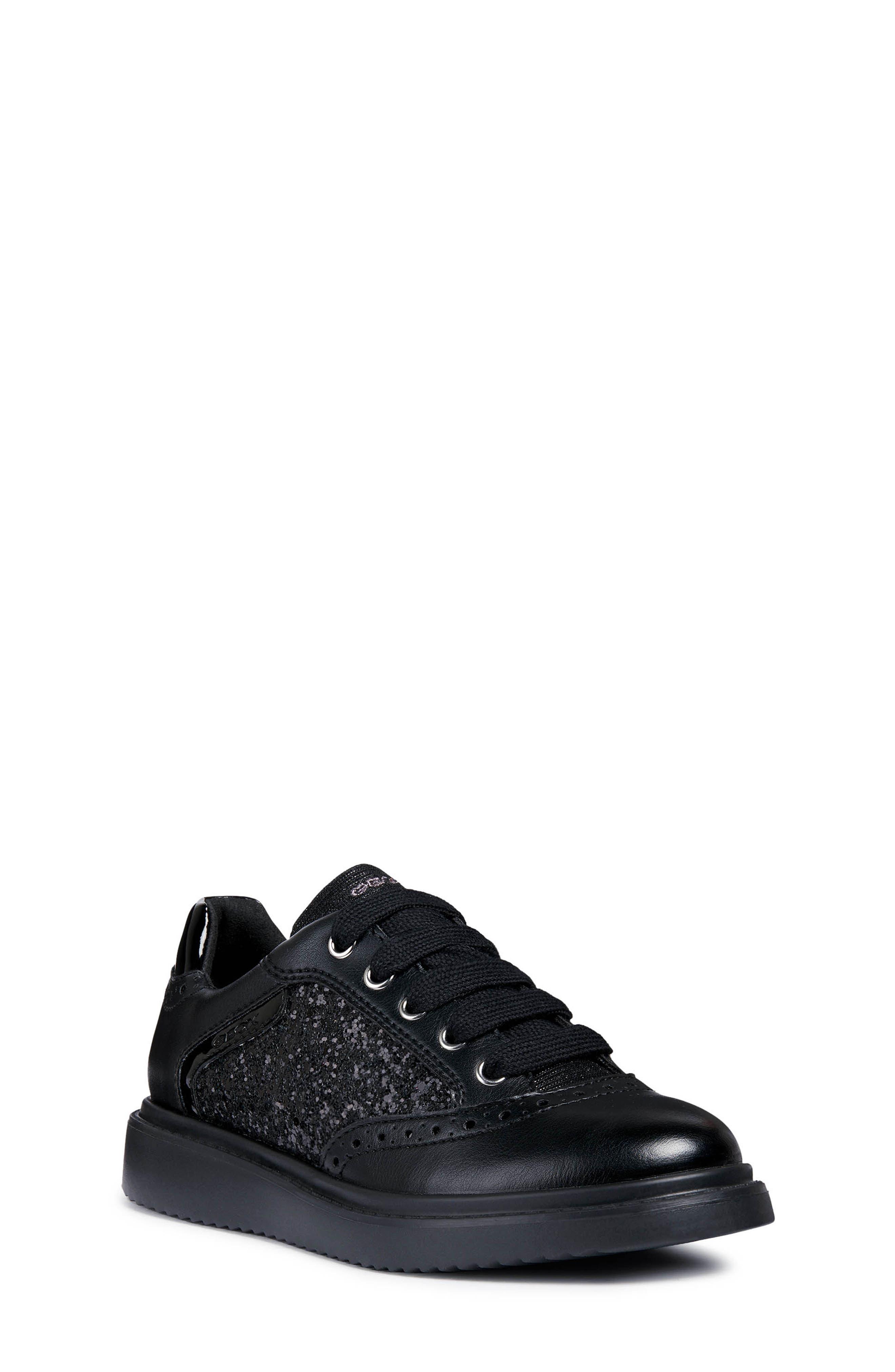Thymar Sequin Sneaker,                             Main thumbnail 1, color,                             BLACK