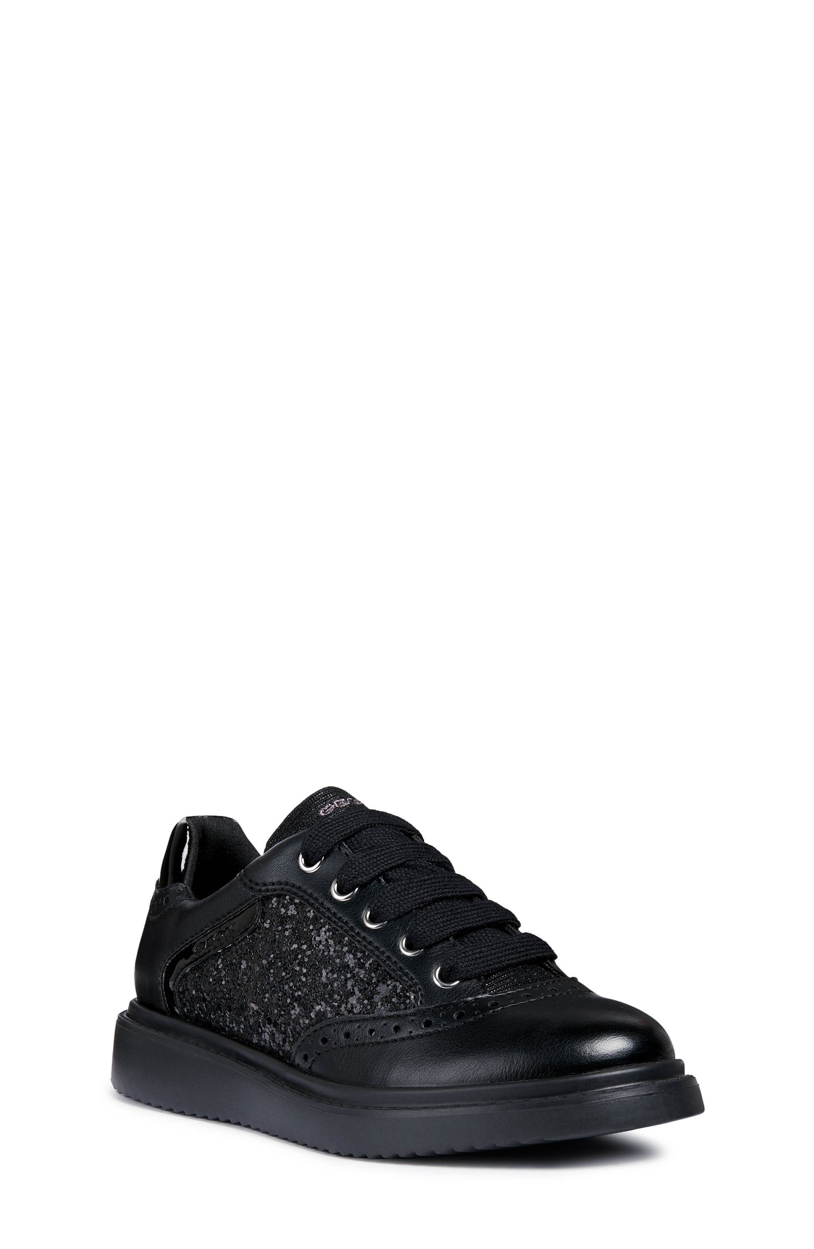 Thymar Sequin Sneaker,                         Main,                         color, BLACK