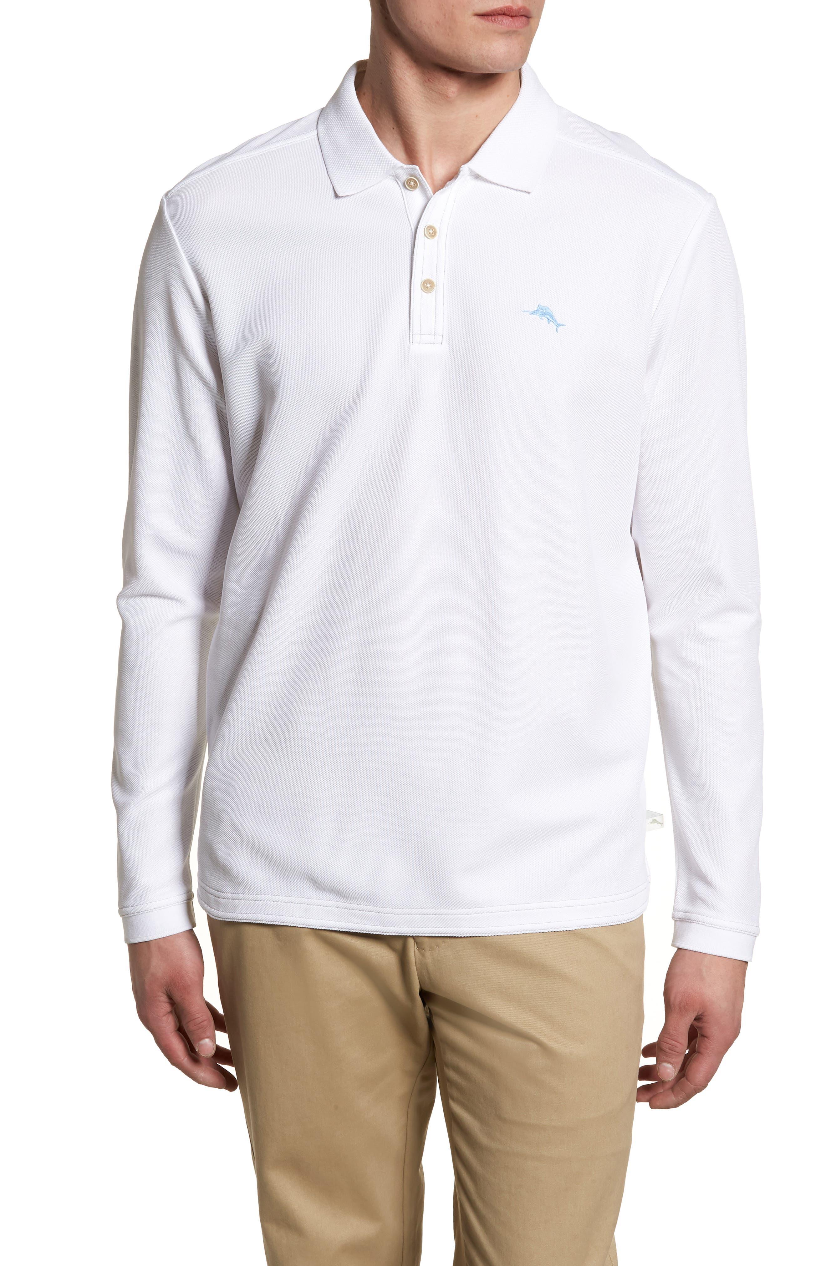 Emfielder Long Sleeve Polo,                         Main,                         color, 101