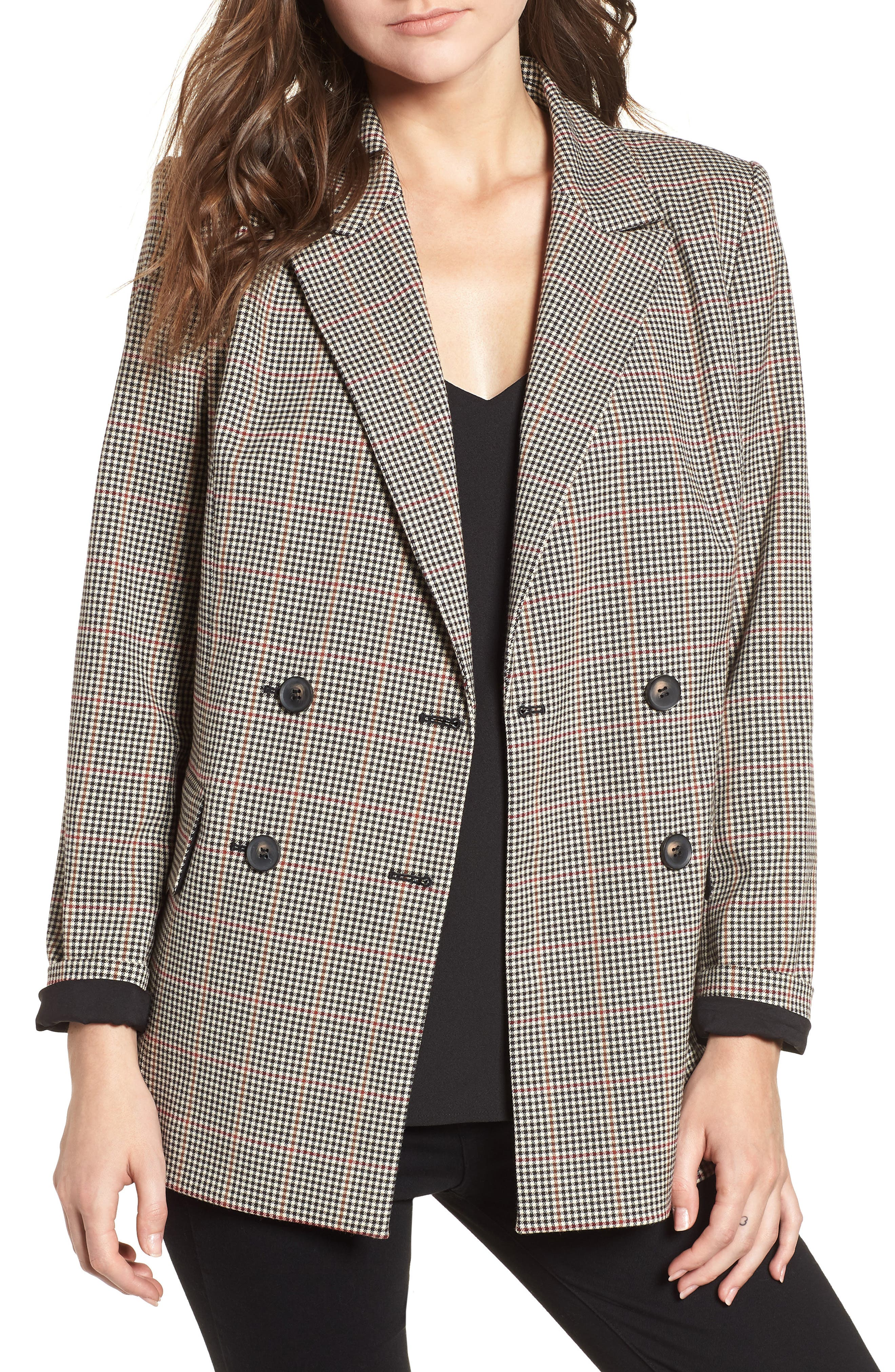 TROUVÉ Menswear Blazer, Main, color, 200