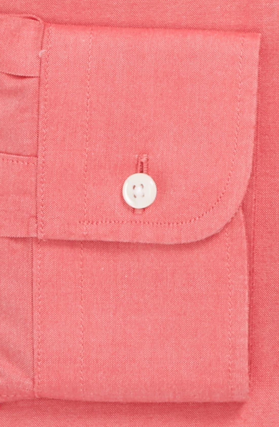 Smartcare<sup>™</sup> Traditional Fit Pinpoint Dress Shirt,                             Alternate thumbnail 63, color,